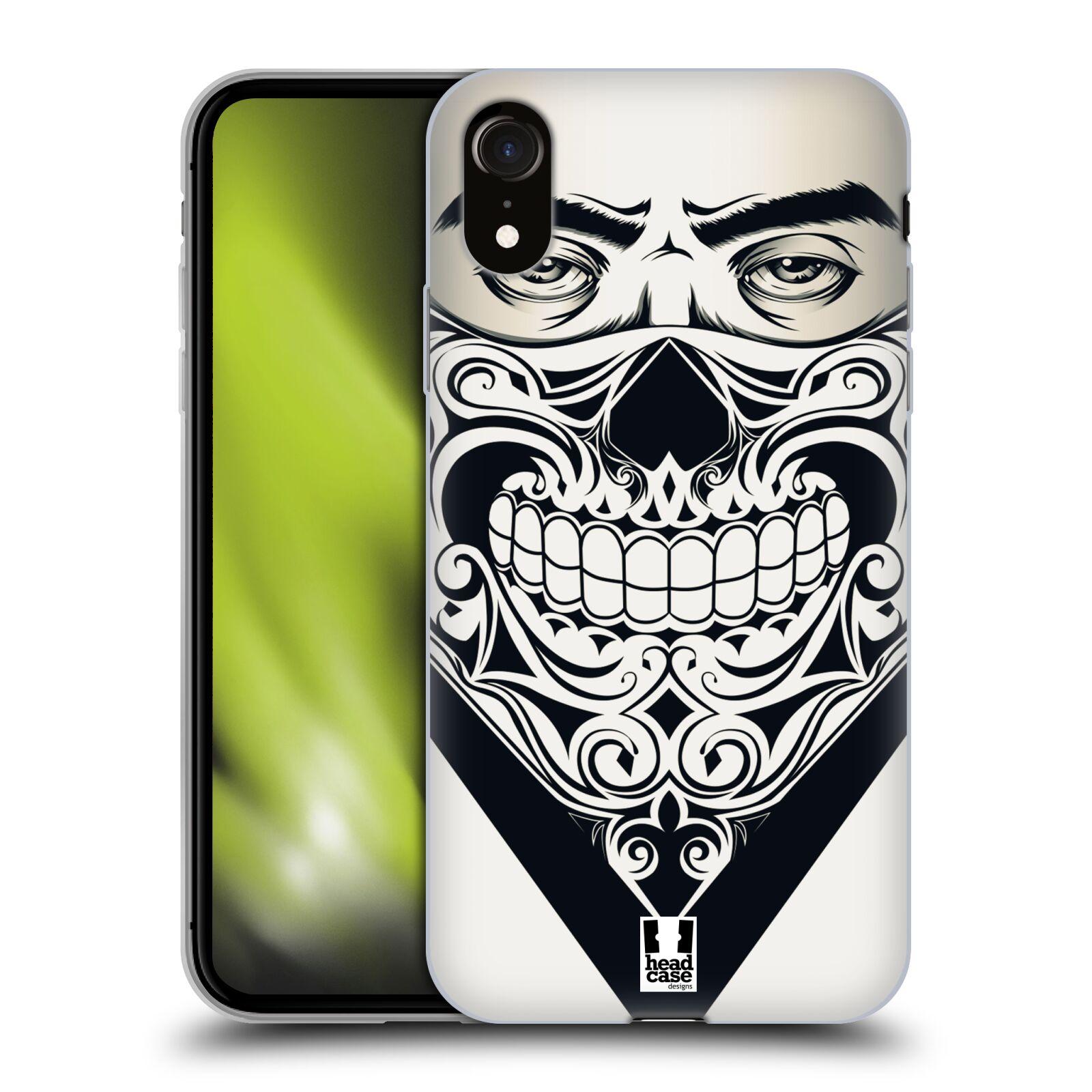 Silikonové pouzdro na mobil Apple iPhone XR - Head Case - LEBKA BANDANA