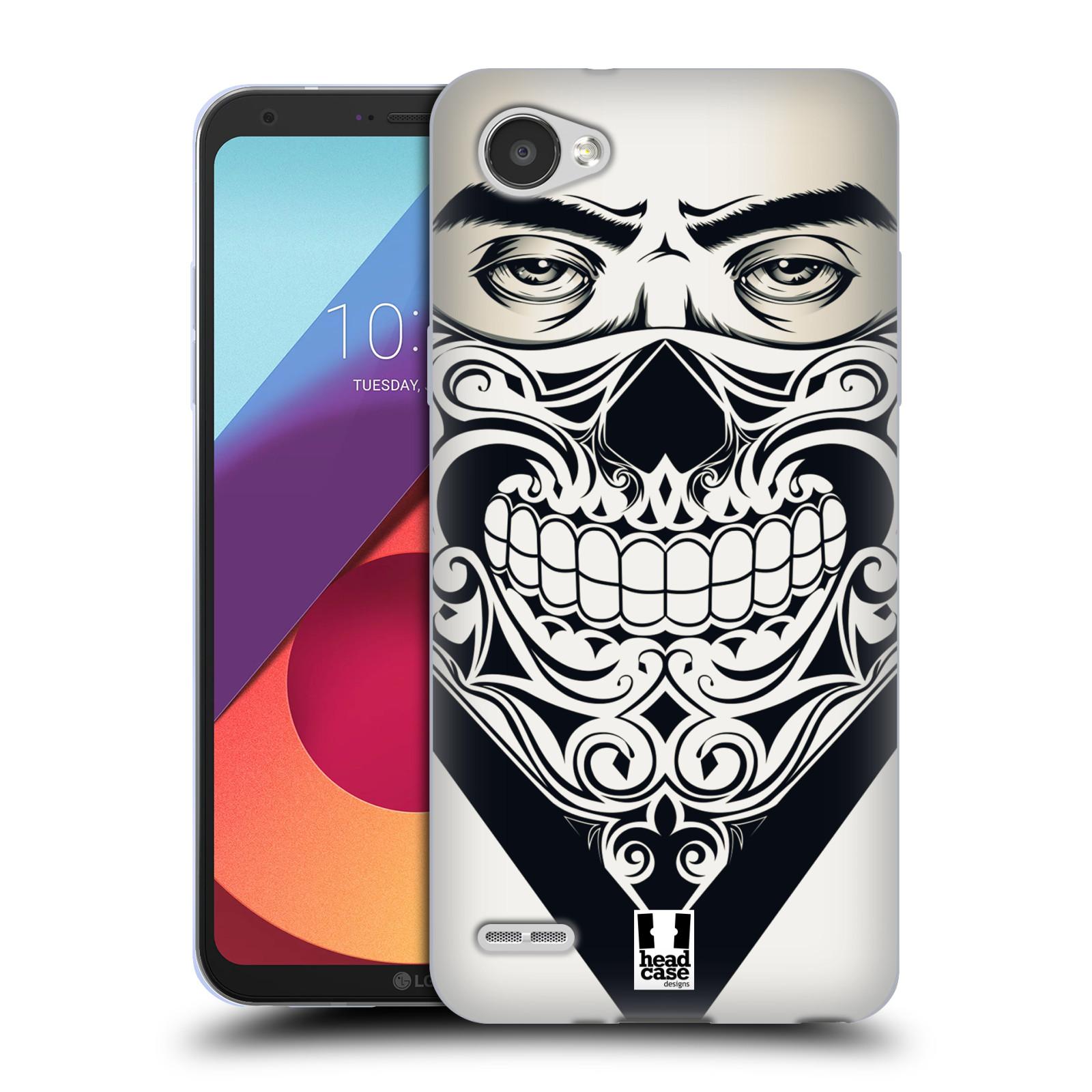 Silikonové pouzdro na mobil LG Q6 - Head Case - LEBKA BANDANA