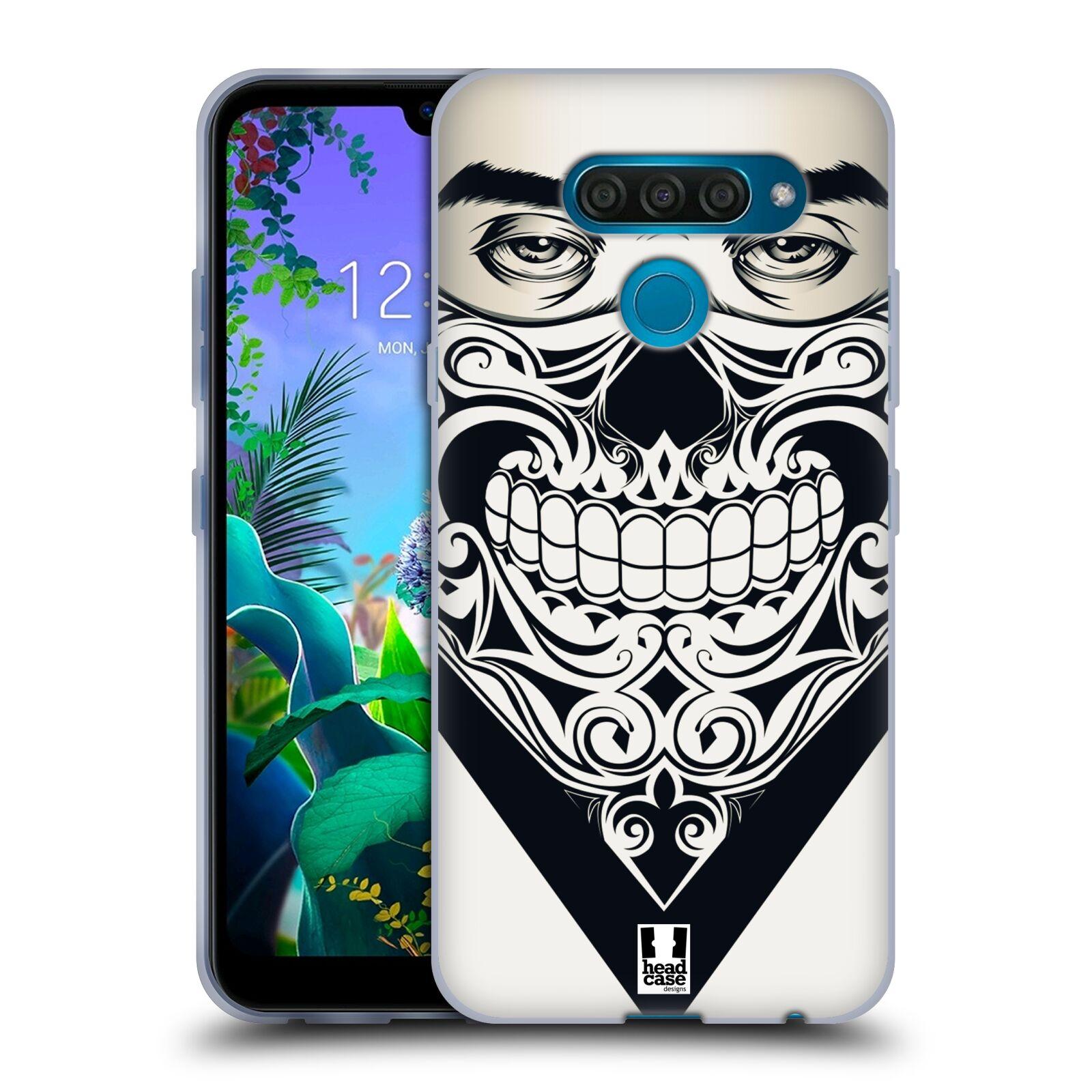 Silikonové pouzdro na mobil LG Q60 - Head Case - LEBKA BANDANA