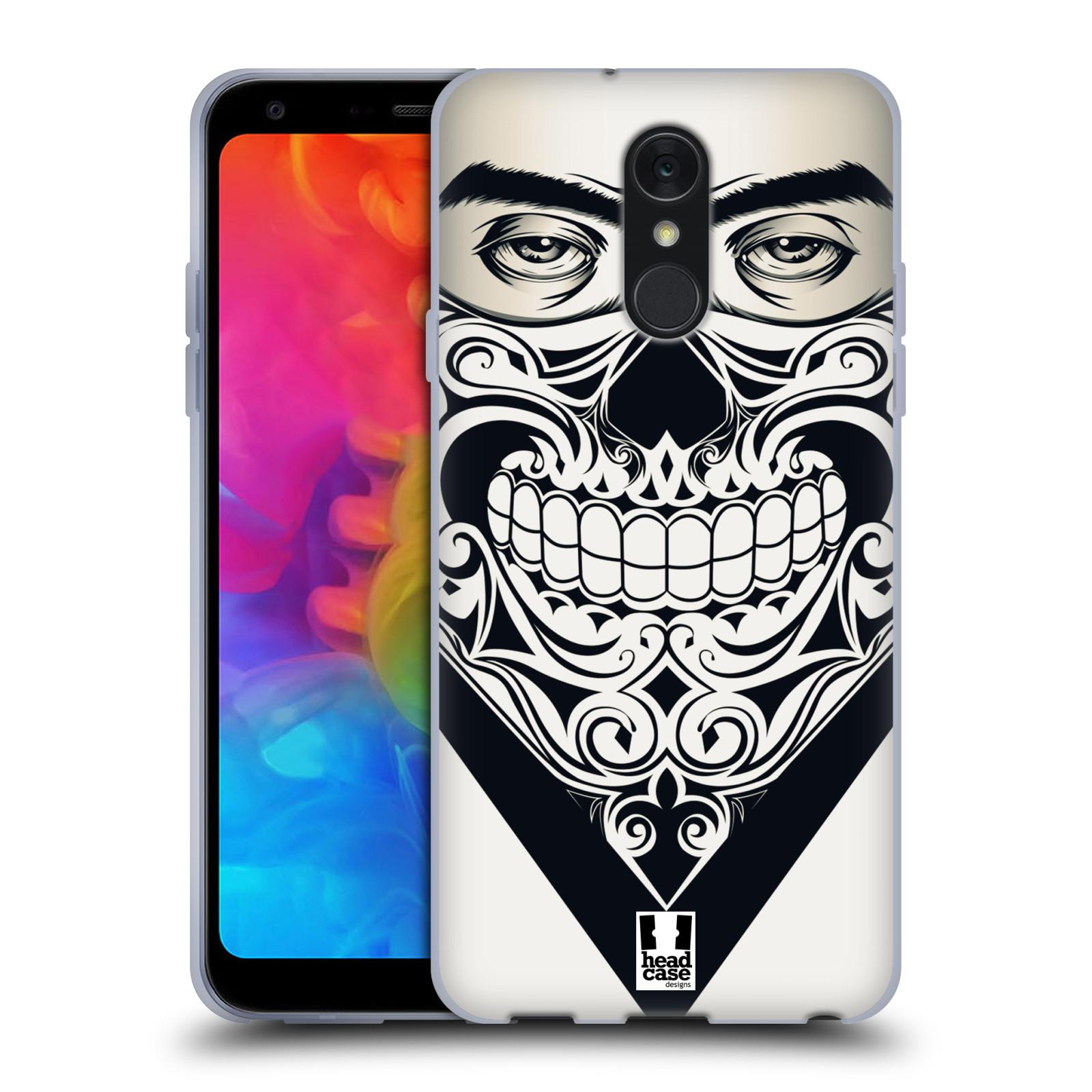 Silikonové pouzdro na mobil LG Q7 - Head Case - LEBKA BANDANA