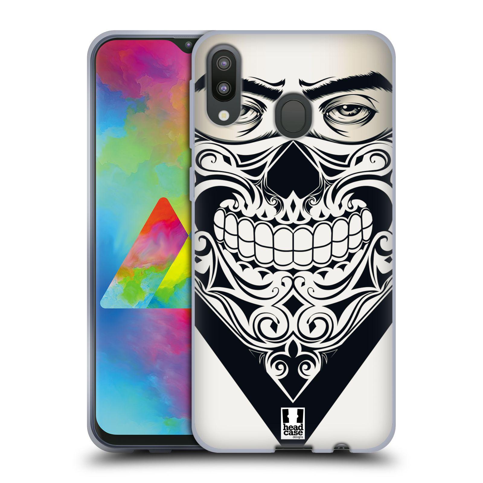 Silikonové pouzdro na mobil Samsung Galaxy M20 - Head Case - LEBKA BANDANA