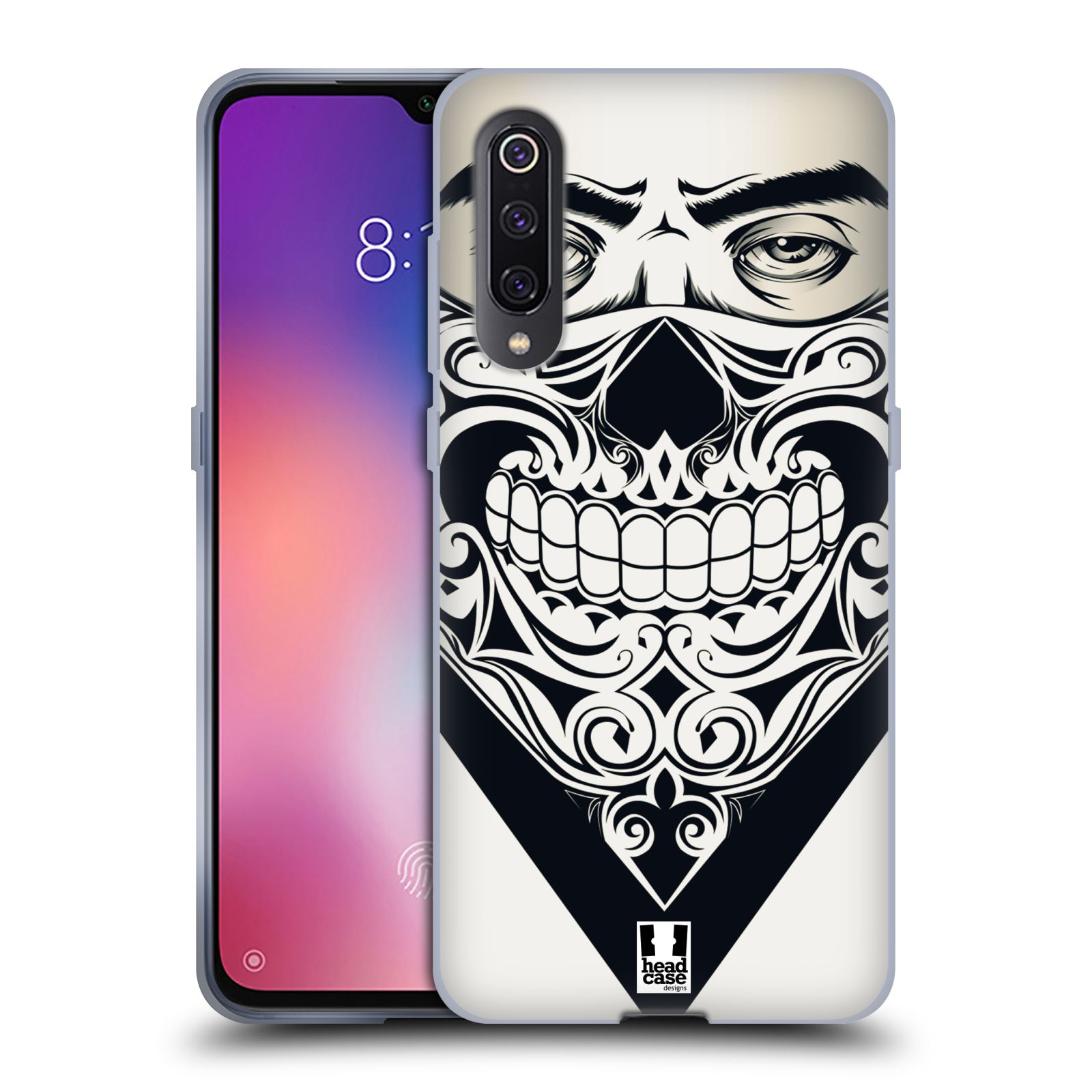 Silikonové pouzdro na mobil Xiaomi Mi 9 - Head Case - LEBKA BANDANA