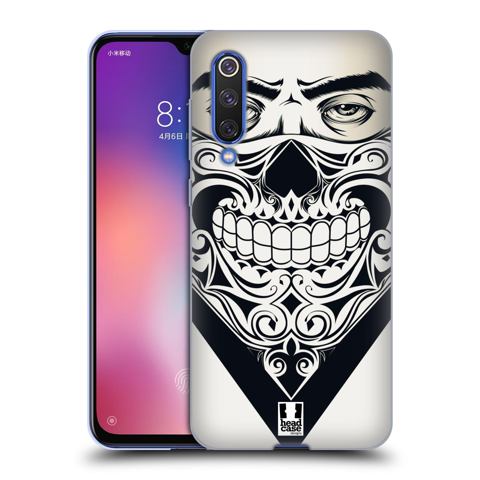 Silikonové pouzdro na mobil Xiaomi Mi 9 SE - Head Case - LEBKA BANDANA