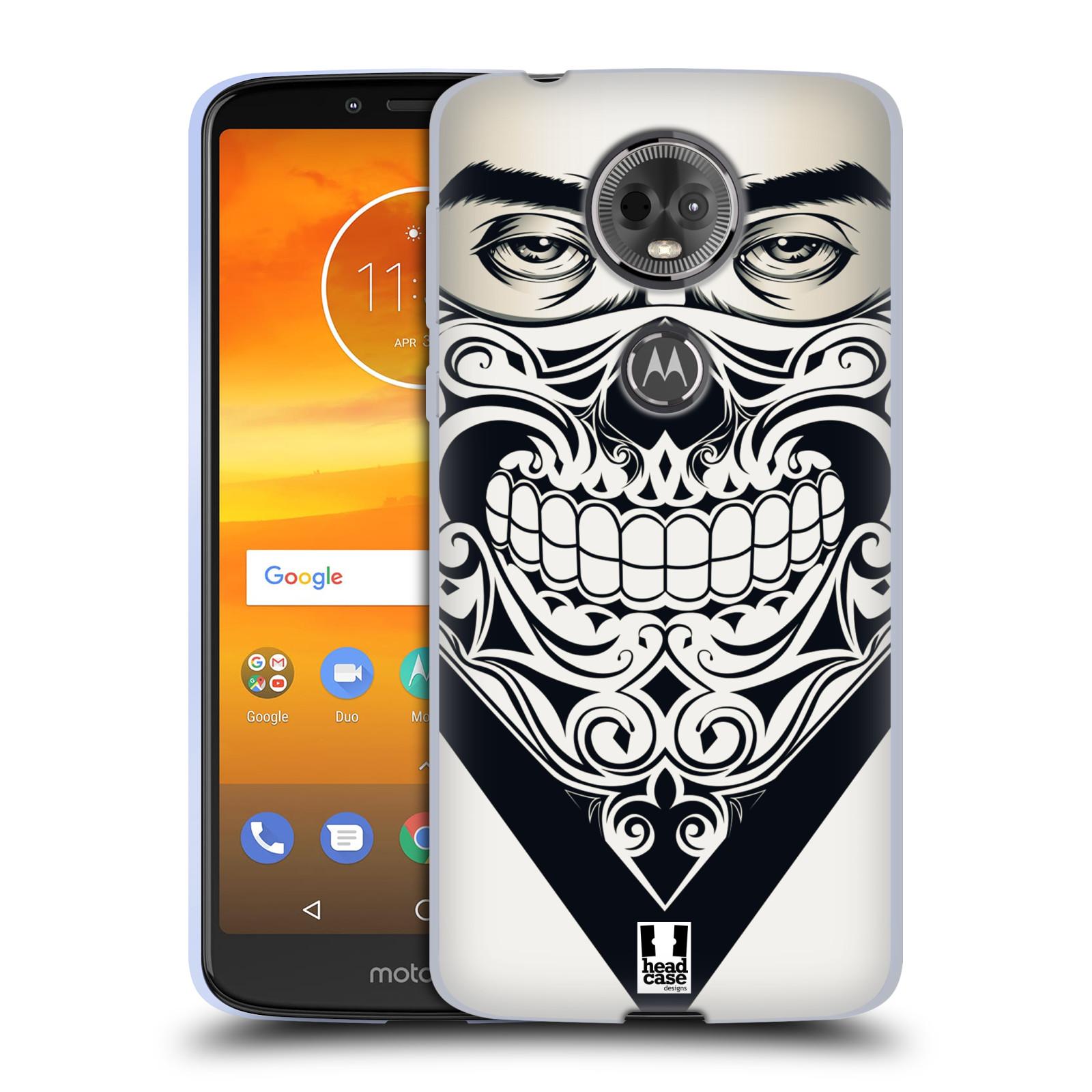 Silikonové pouzdro na mobil Motorola Moto E5 Plus - Head Case - LEBKA BANDANA