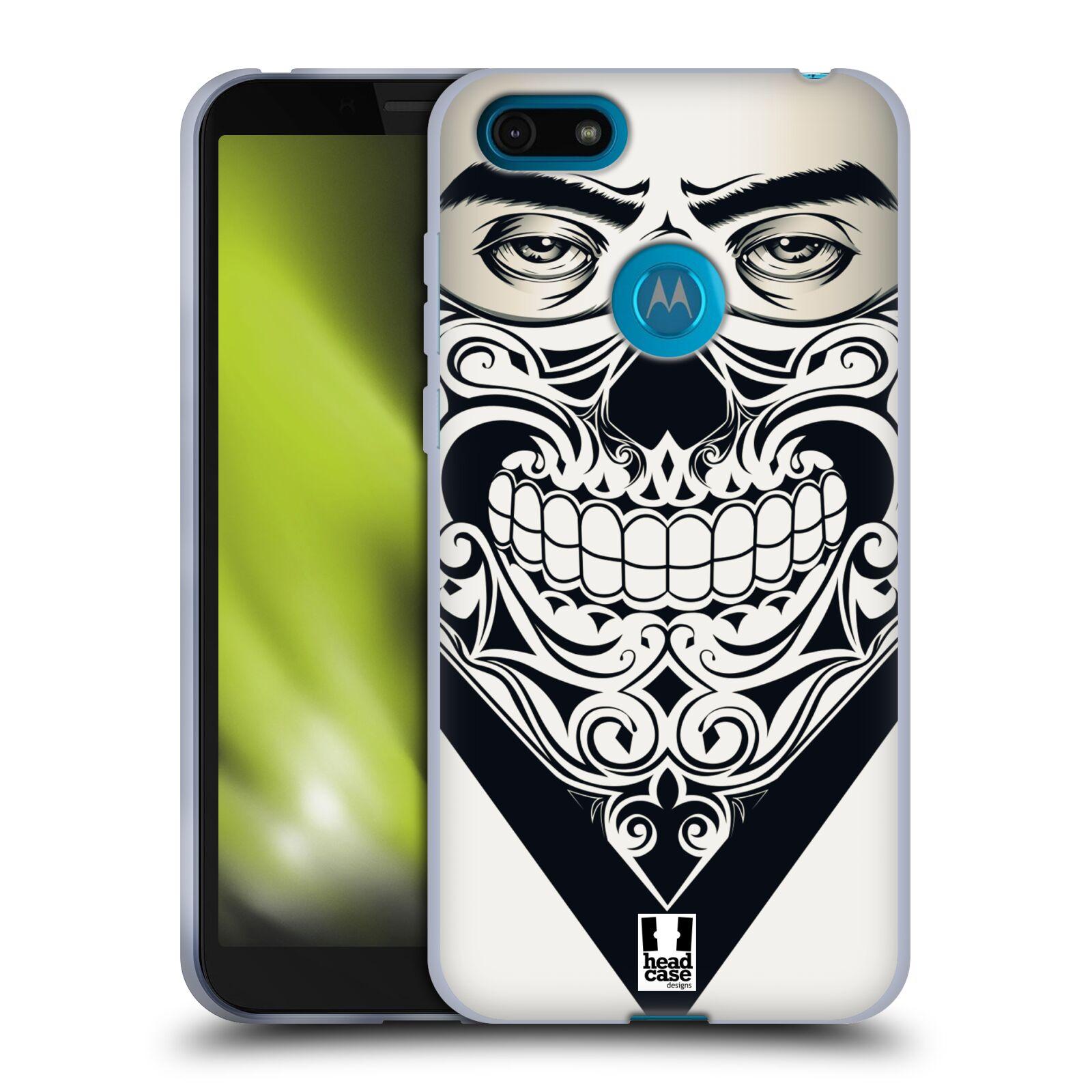 Silikonové pouzdro na mobil Motorola Moto E6 Play - Head Case - LEBKA BANDANA