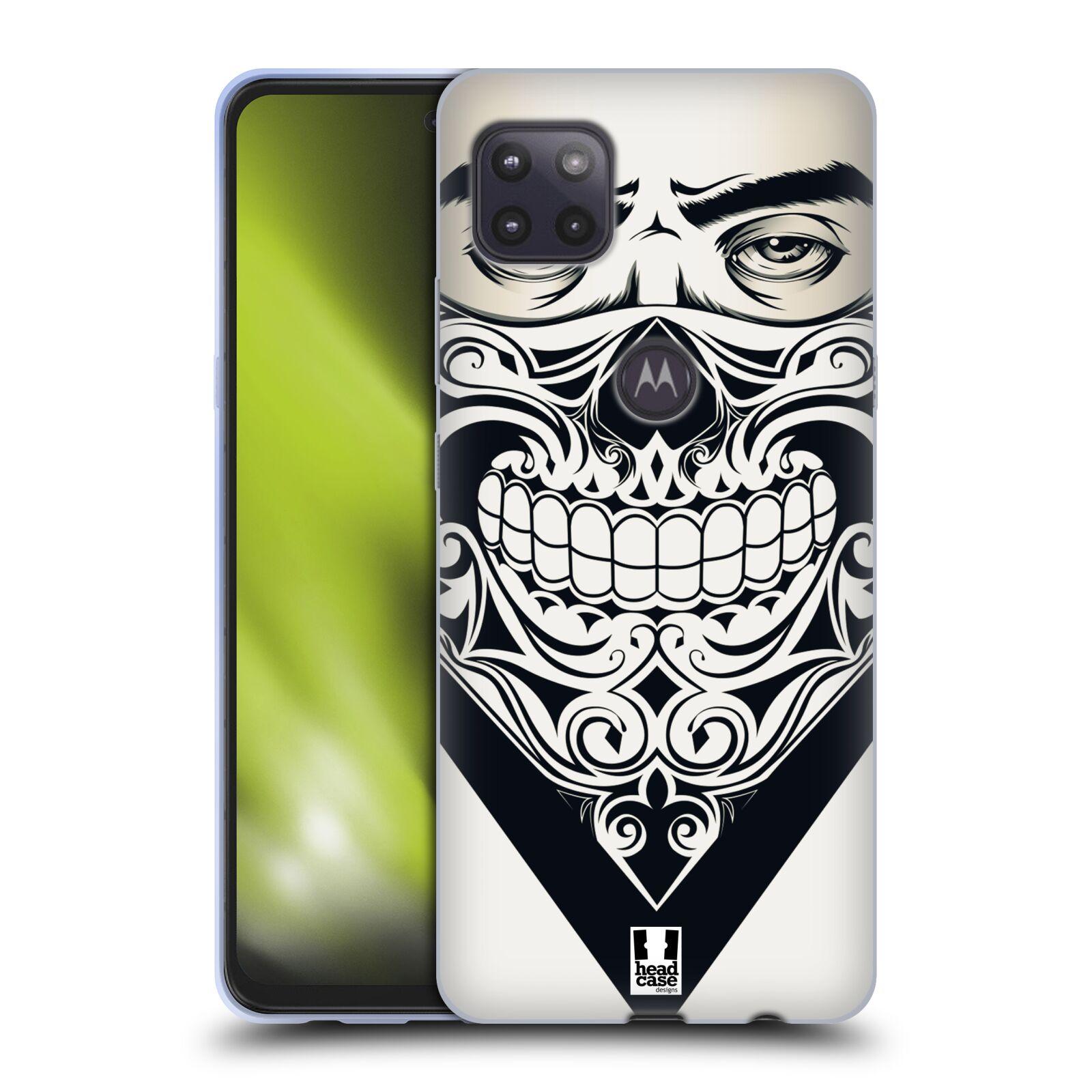 Silikonové pouzdro na mobil Motorola Moto G 5G - Head Case - LEBKA BANDANA