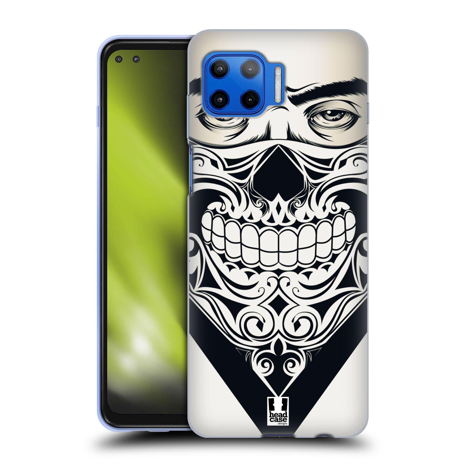 Silikonové pouzdro na mobil Motorola Moto G 5G Plus - Head Case - LEBKA BANDANA