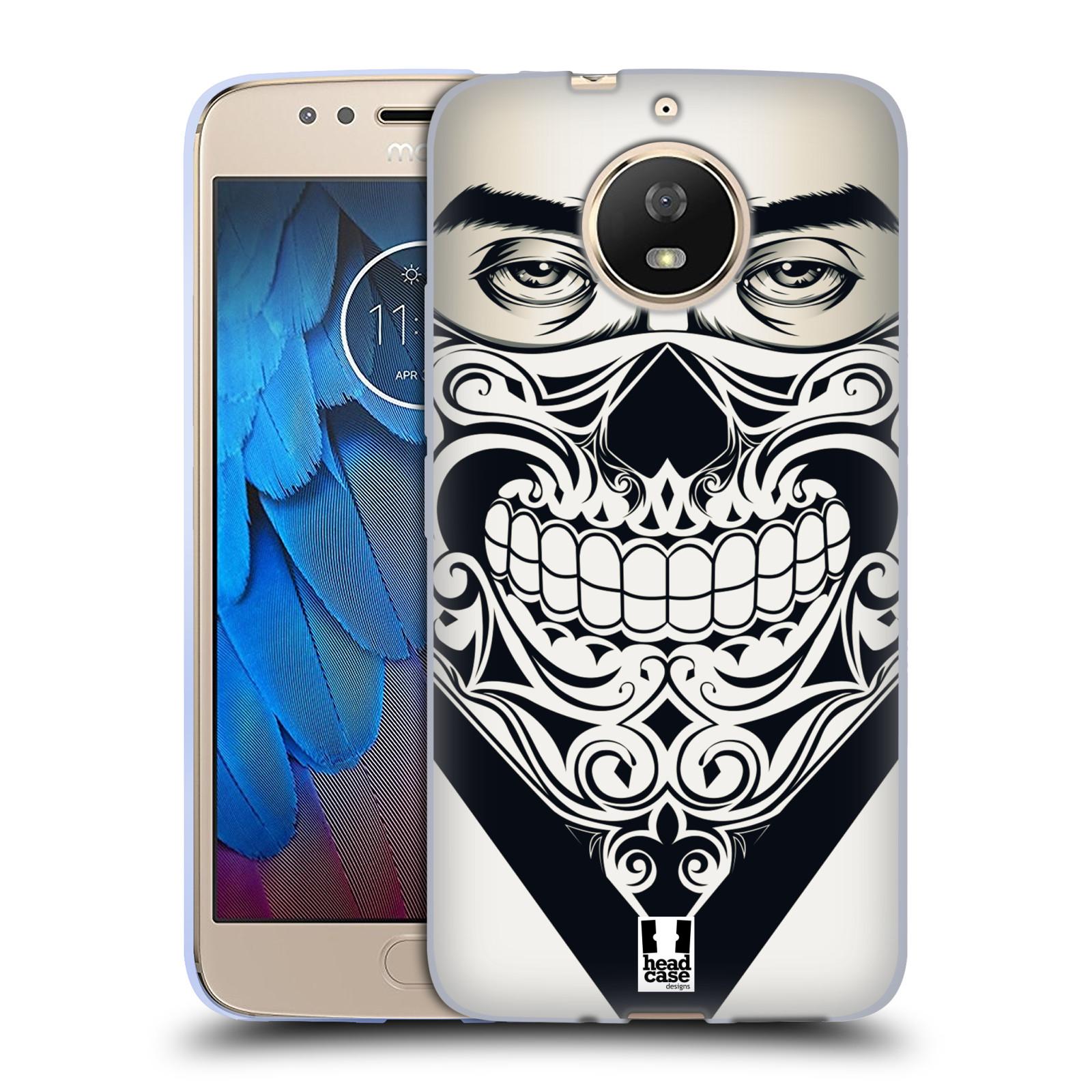 Silikonové pouzdro na mobil Lenovo Moto G5s - Head Case - LEBKA BANDANA