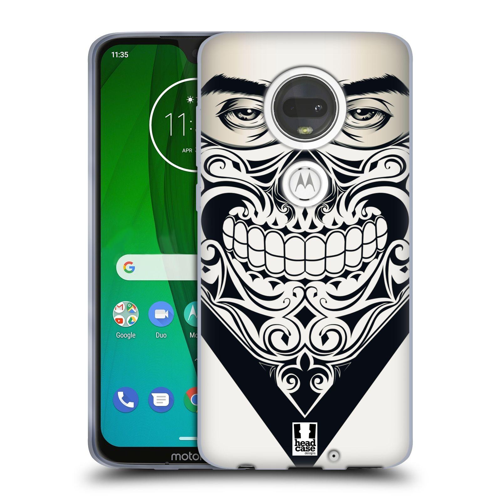 Silikonové pouzdro na mobil Motorola Moto G7 - Head Case - LEBKA BANDANA