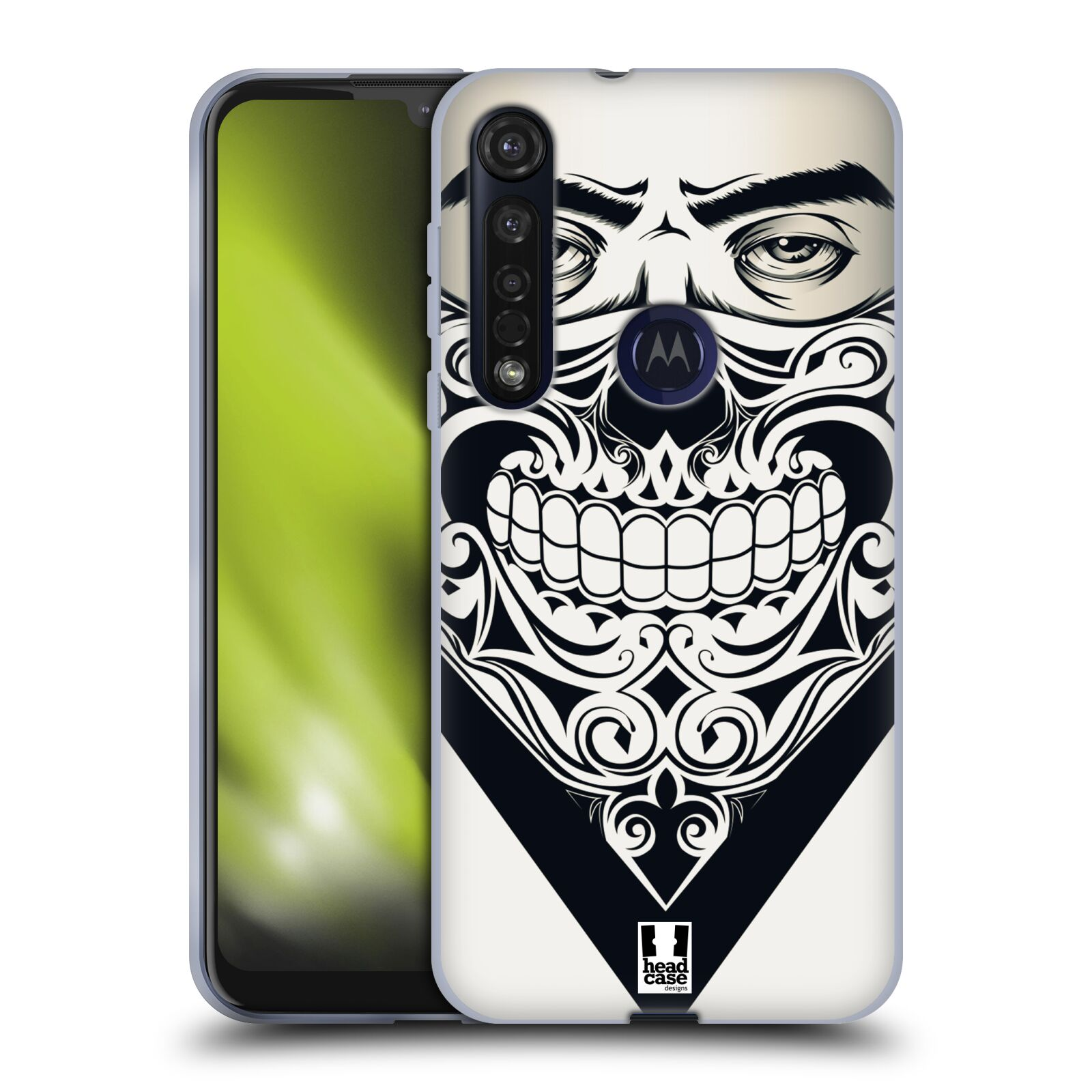 Silikonové pouzdro na mobil Motorola Moto G8 Plus - Head Case - LEBKA BANDANA