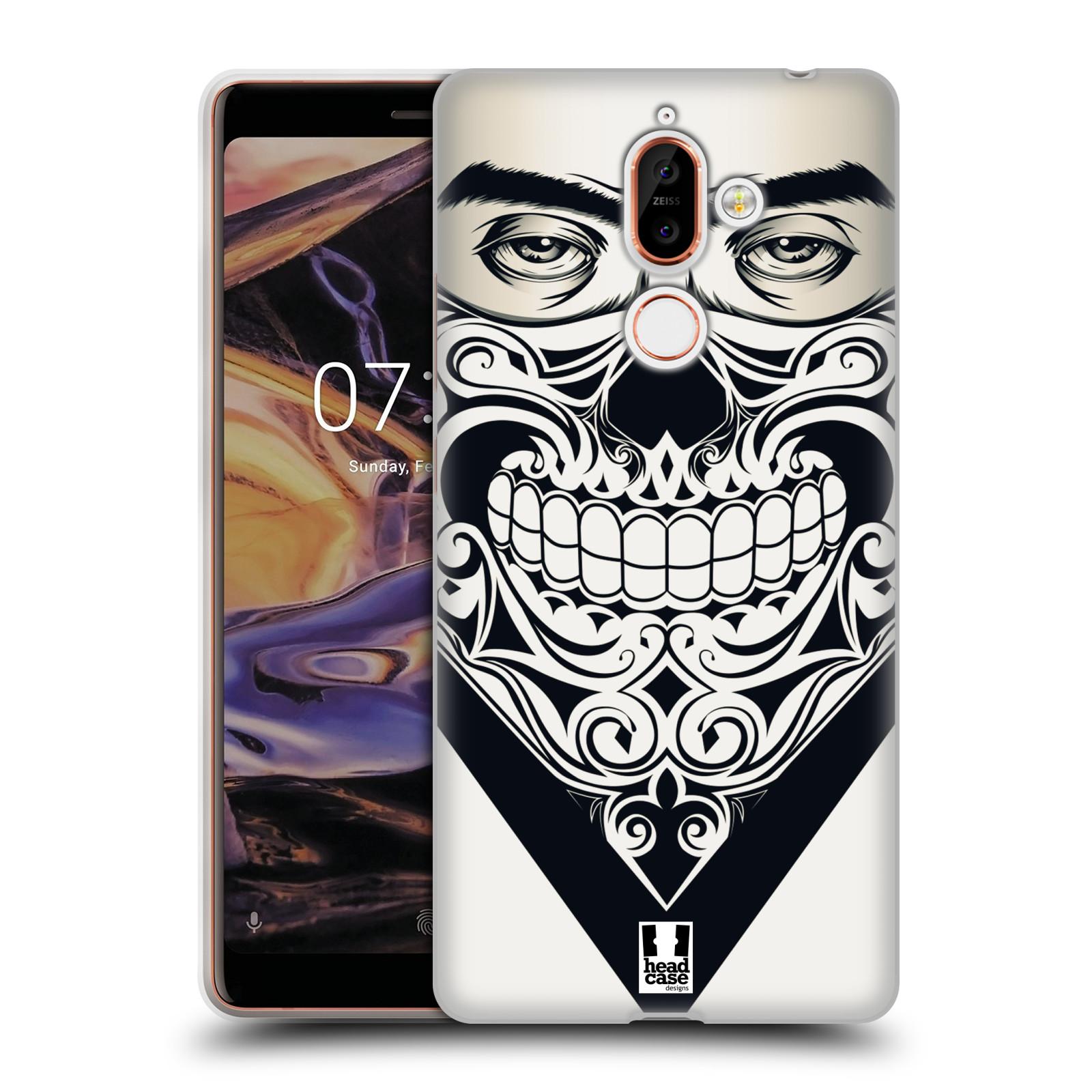 Silikonové pouzdro na mobil Nokia 7 Plus - Head Case - LEBKA BANDANA