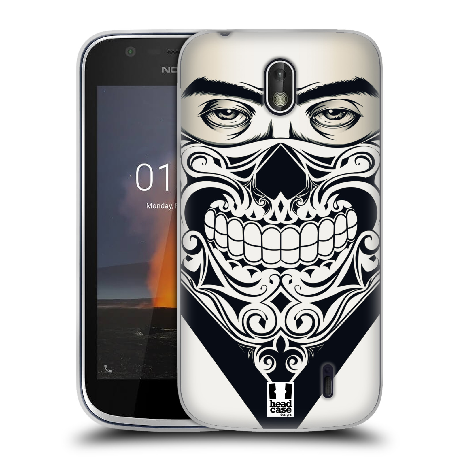 Silikonové pouzdro na mobil Nokia 1 - Head Case - LEBKA BANDANA