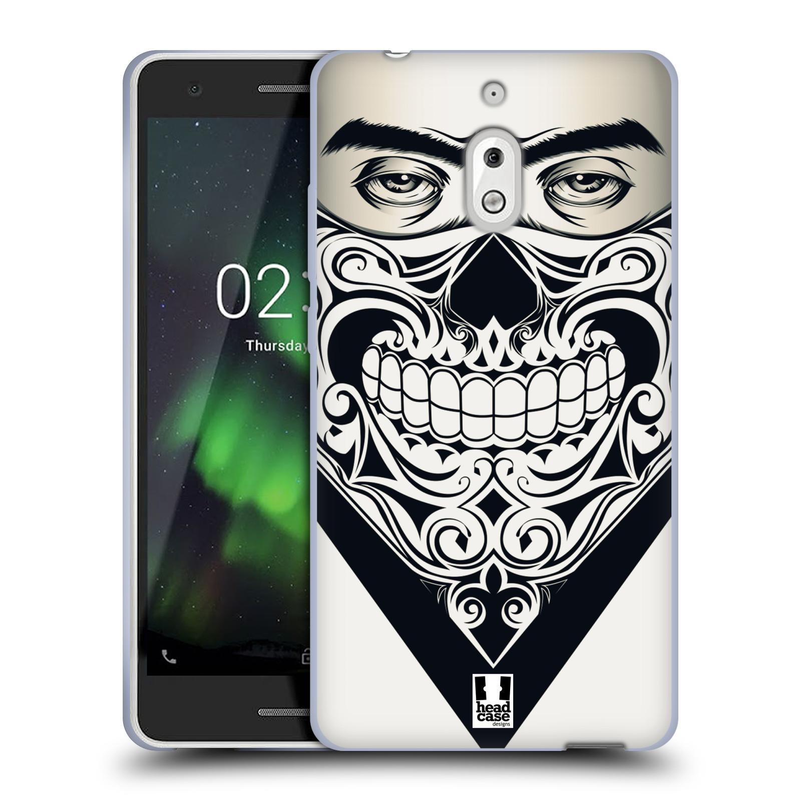 Silikonové pouzdro na mobil Nokia 2.1 - Head Case - LEBKA BANDANA