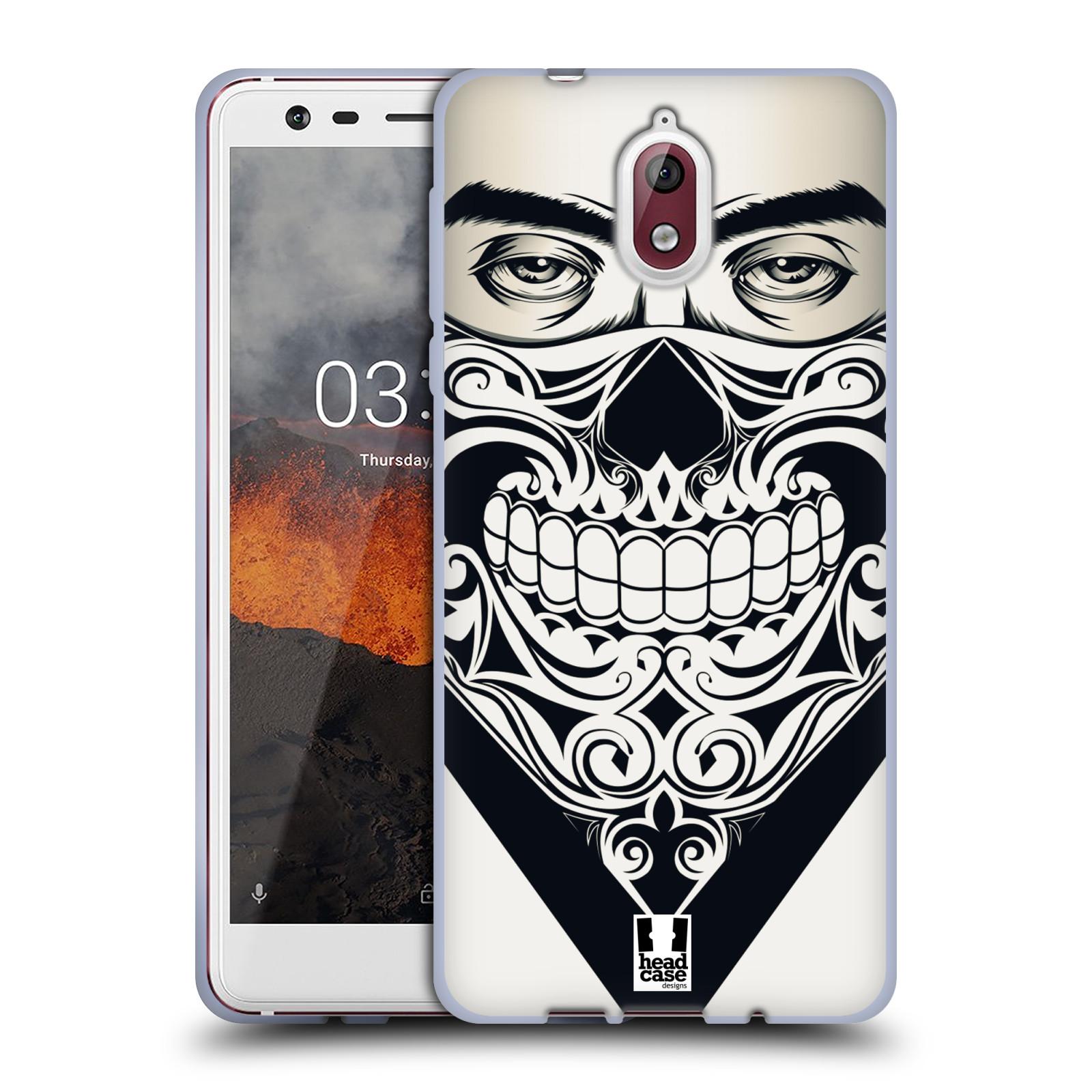 Silikonové pouzdro na mobil Nokia 3.1 - Head Case - LEBKA BANDANA