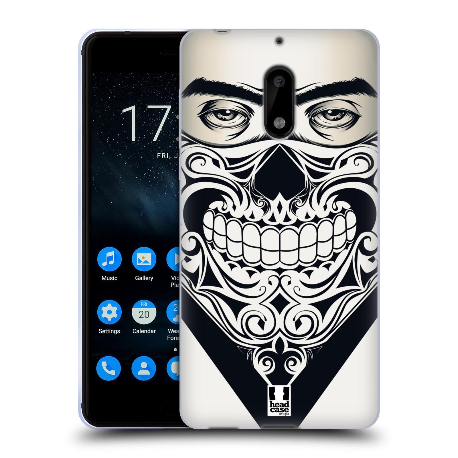 Silikonové pouzdro na mobil Nokia 6 - Head Case - LEBKA BANDANA