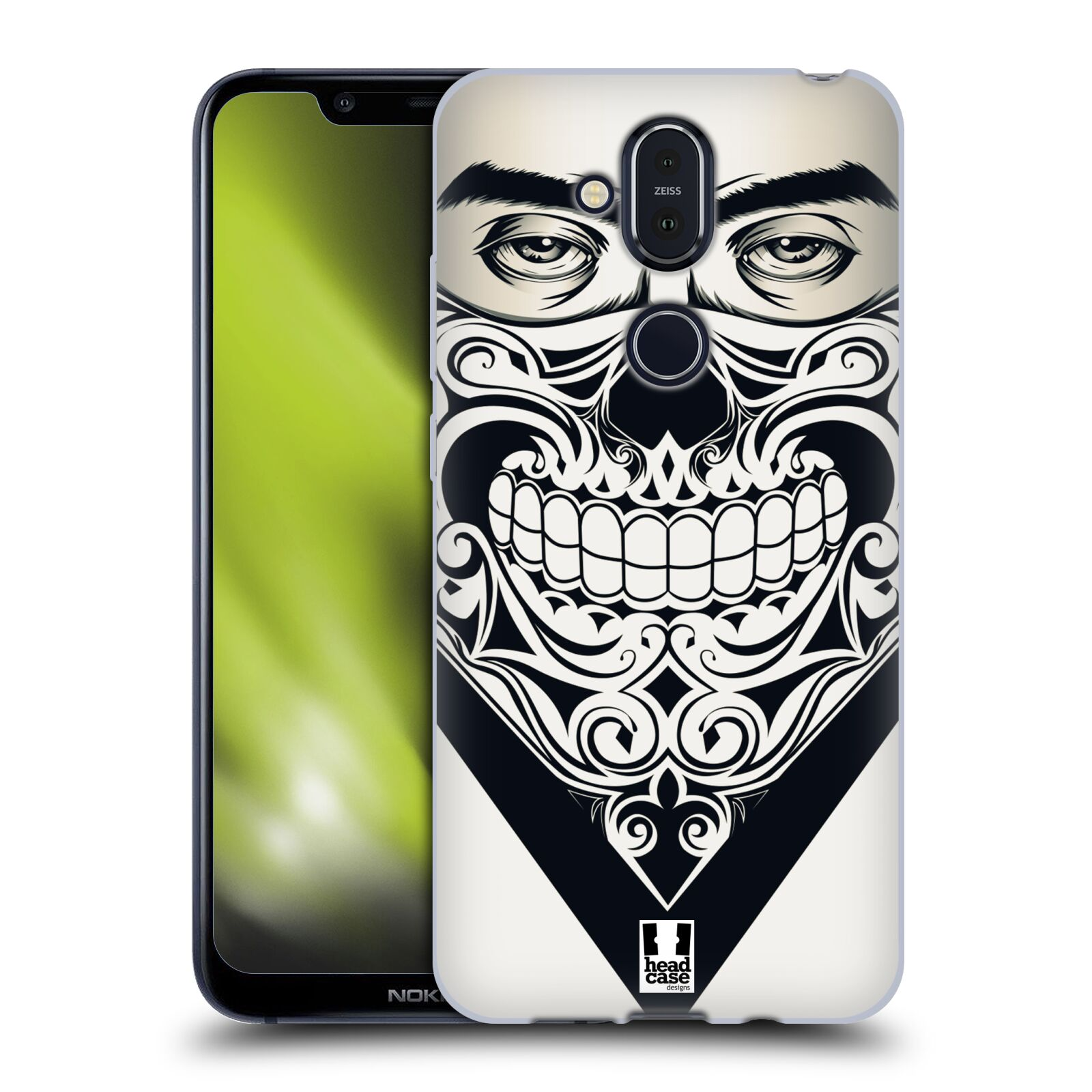 Silikonové pouzdro na mobil Nokia 8.1 - Head Case - LEBKA BANDANA