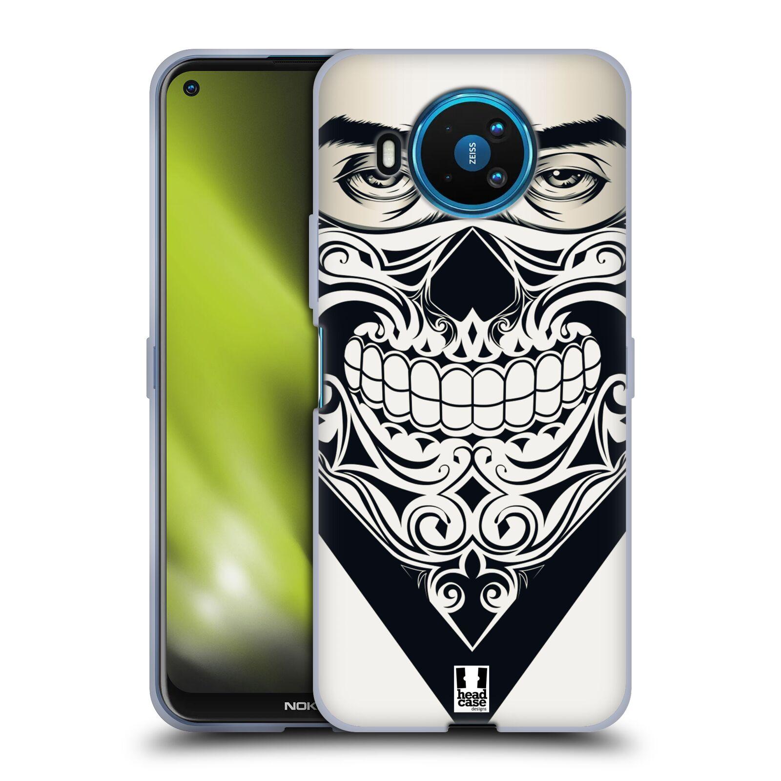 Silikonové pouzdro na mobil Nokia 8.3 5G - Head Case - LEBKA BANDANA