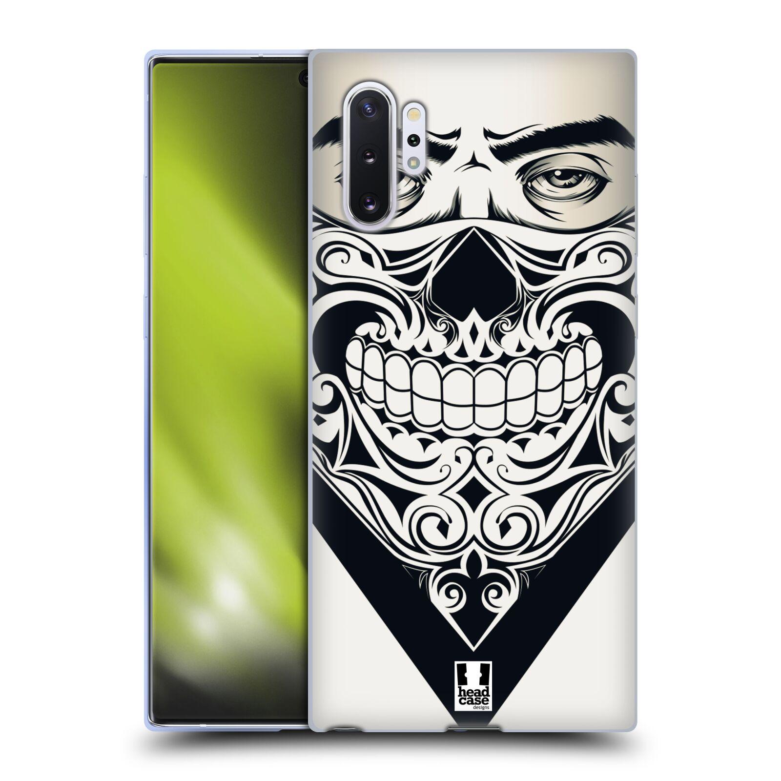 Silikonové pouzdro na mobil Samsung Galaxy Note 10 Plus - Head Case - LEBKA BANDANA