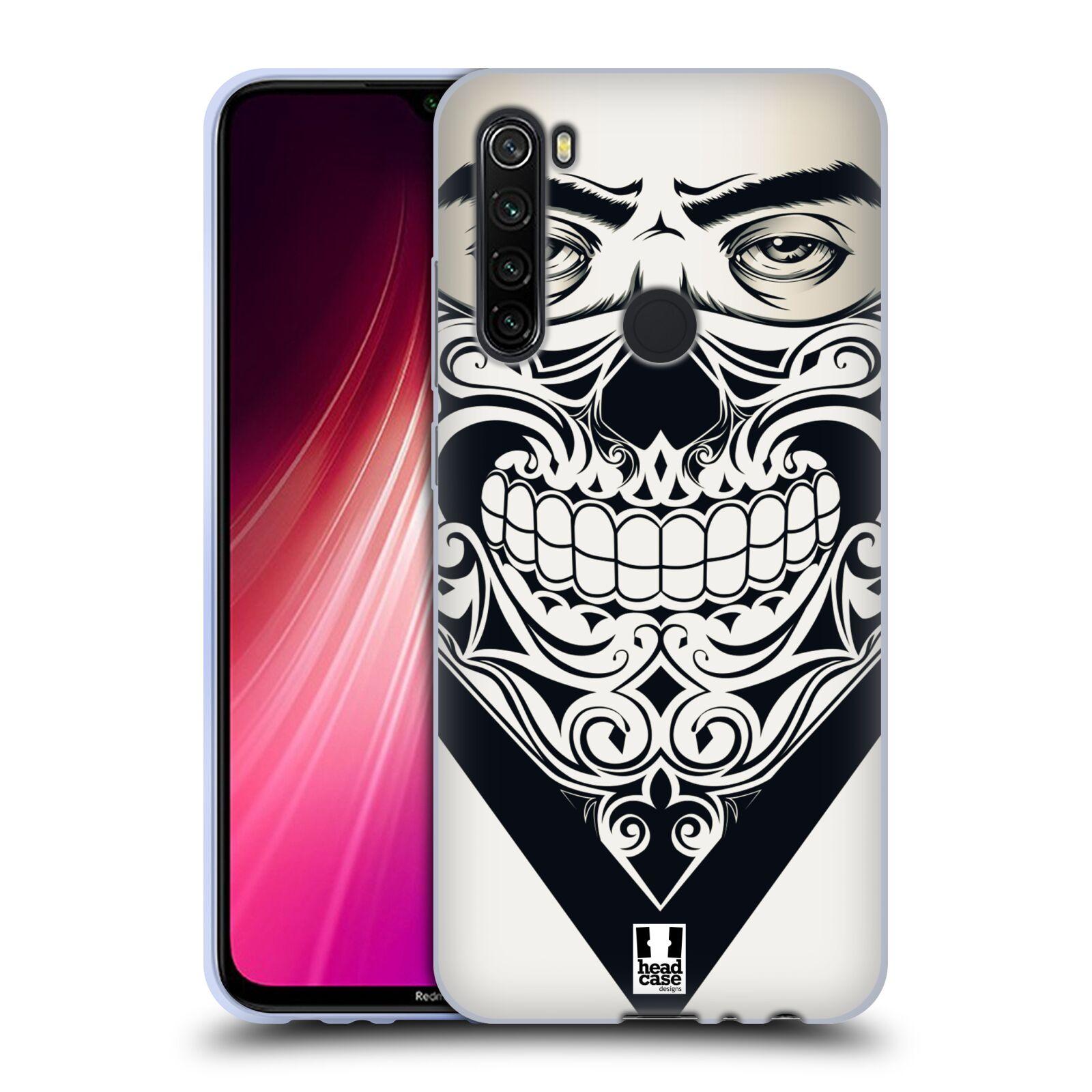 Silikonové pouzdro na mobil Xiaomi Redmi Note 8T - Head Case - LEBKA BANDANA