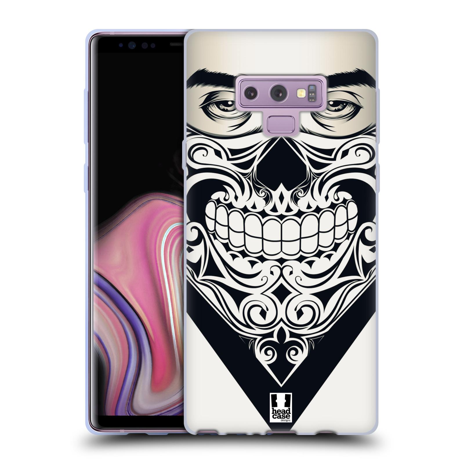 Silikonové pouzdro na mobil Samsung Galaxy Note 9 - Head Case - LEBKA BANDANA