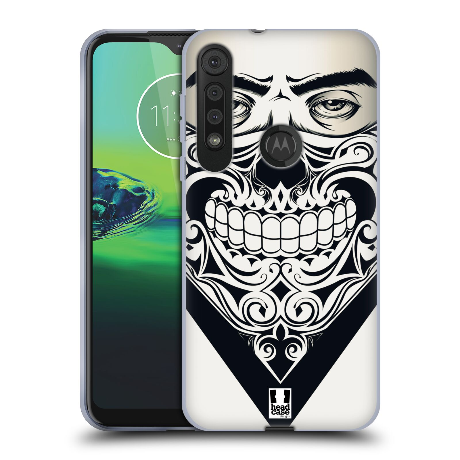 Silikonové pouzdro na mobil Motorola One Macro - Head Case - LEBKA BANDANA