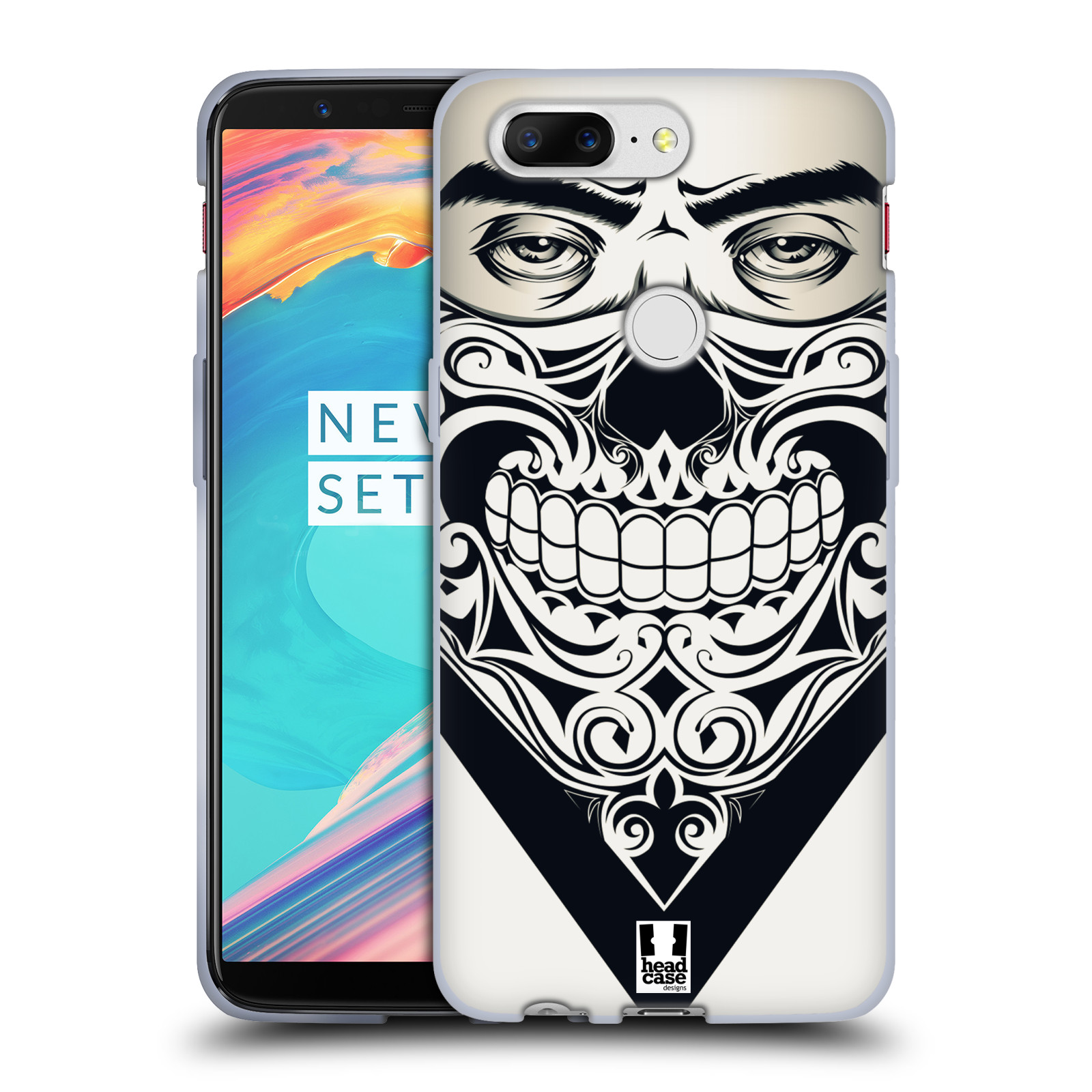 Silikonové pouzdro na mobil OnePlus 5T - Head Case - LEBKA BANDANA