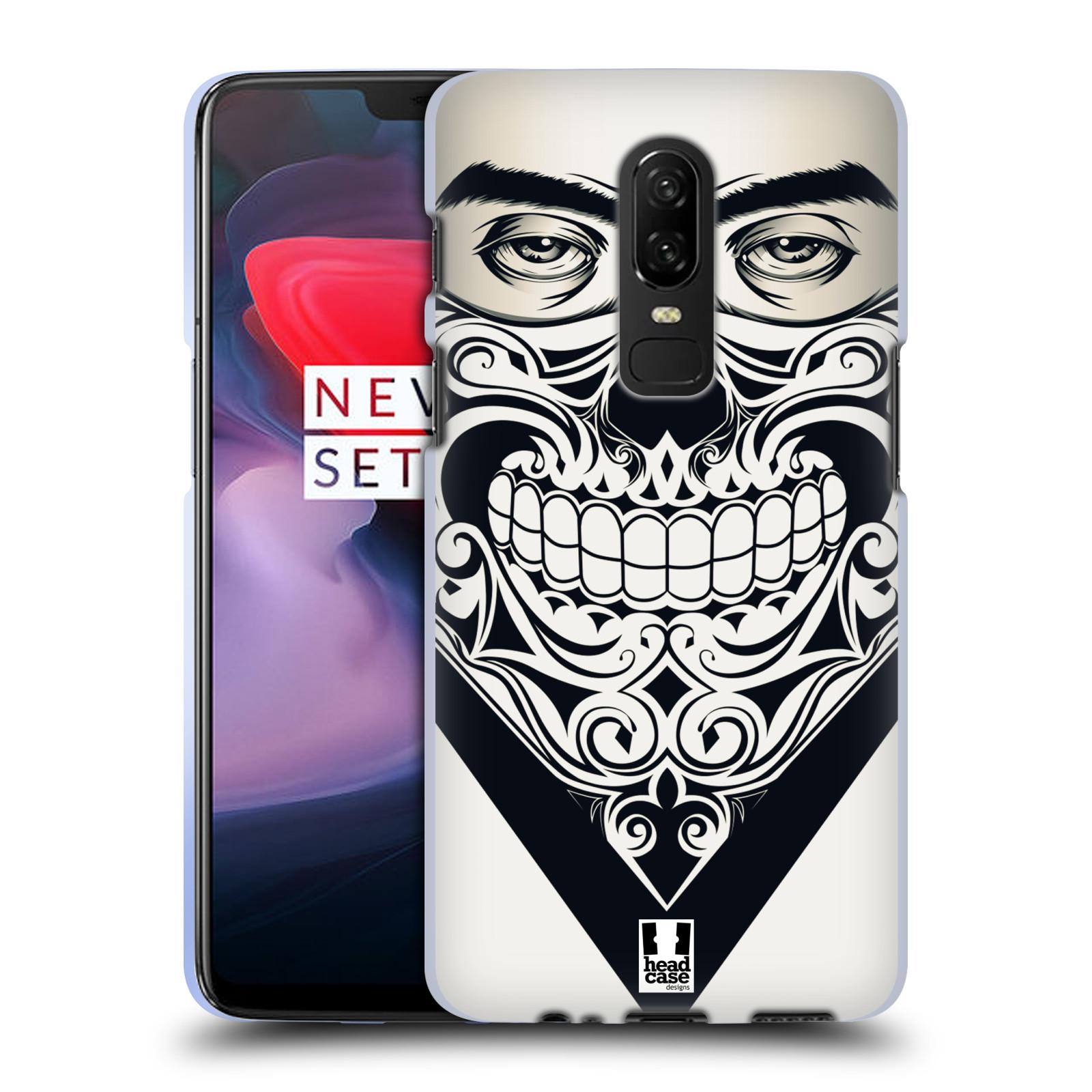 Silikonové pouzdro na mobil OnePlus 6 - Head Case - LEBKA BANDANA