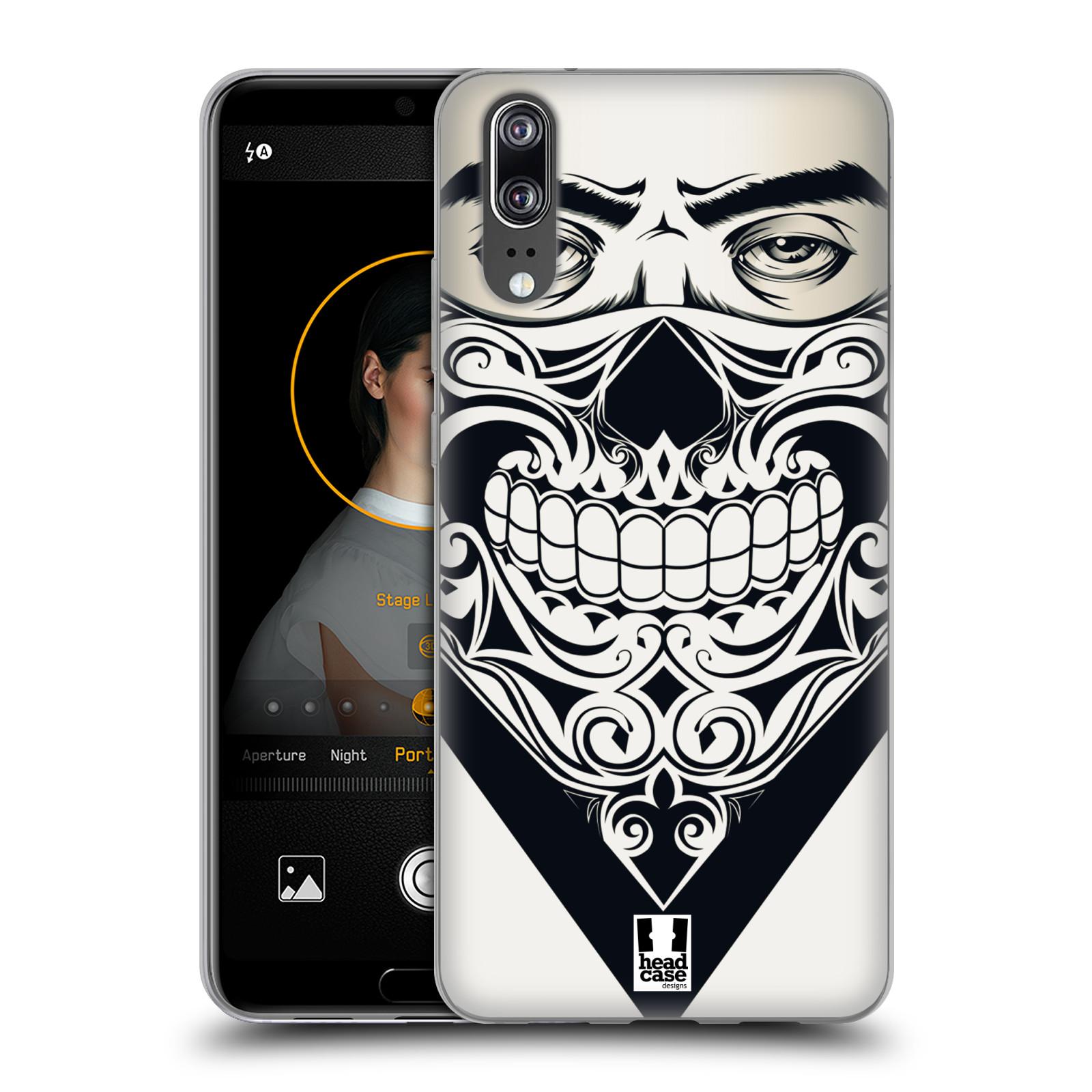 Silikonové pouzdro na mobil Huawei P20 - Head Case - LEBKA BANDANA