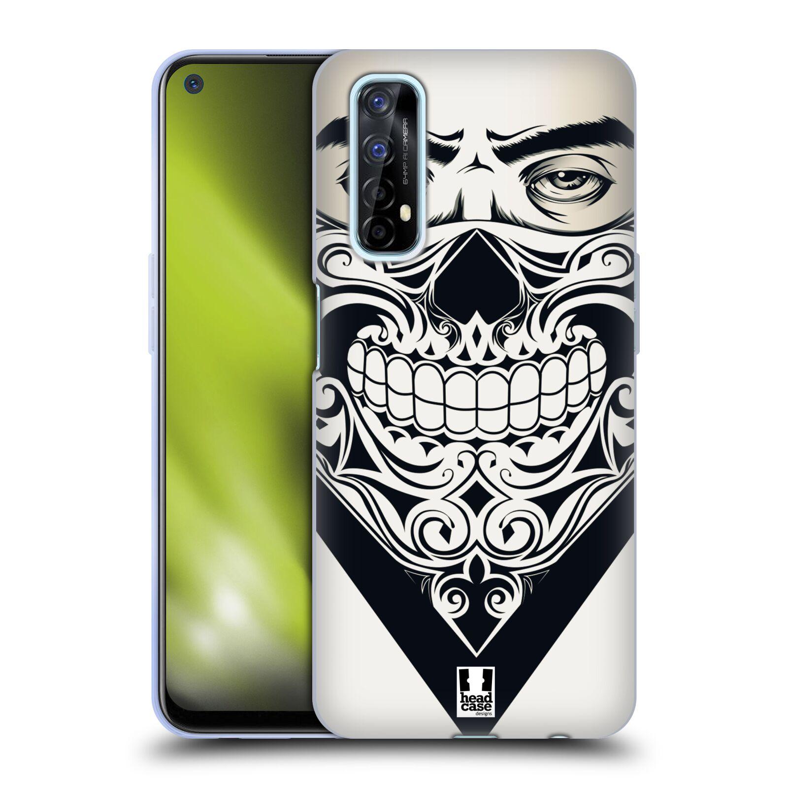 Silikonové pouzdro na mobil Realme 7 - Head Case - LEBKA BANDANA