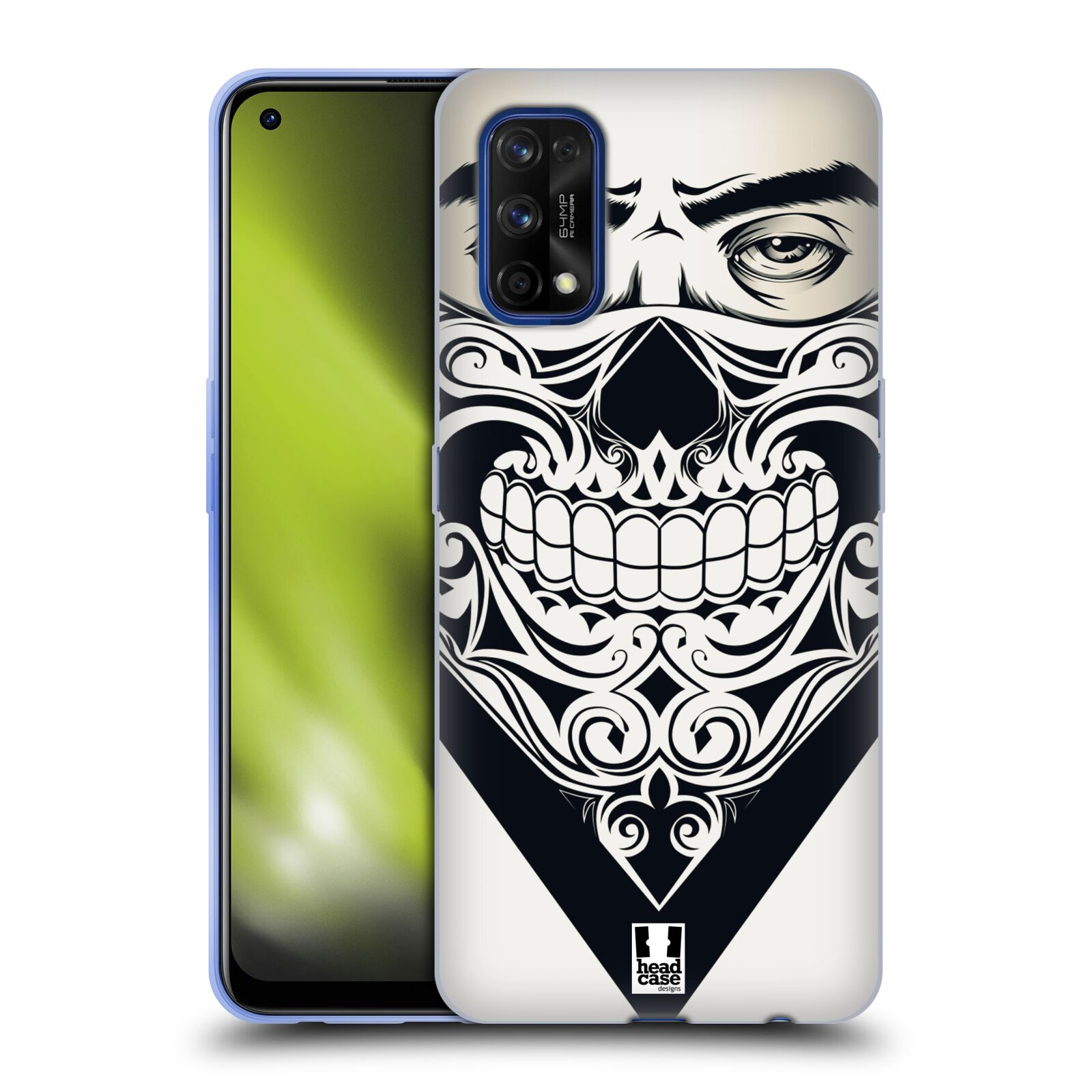 Silikonové pouzdro na mobil Realme 7 Pro - Head Case - LEBKA BANDANA
