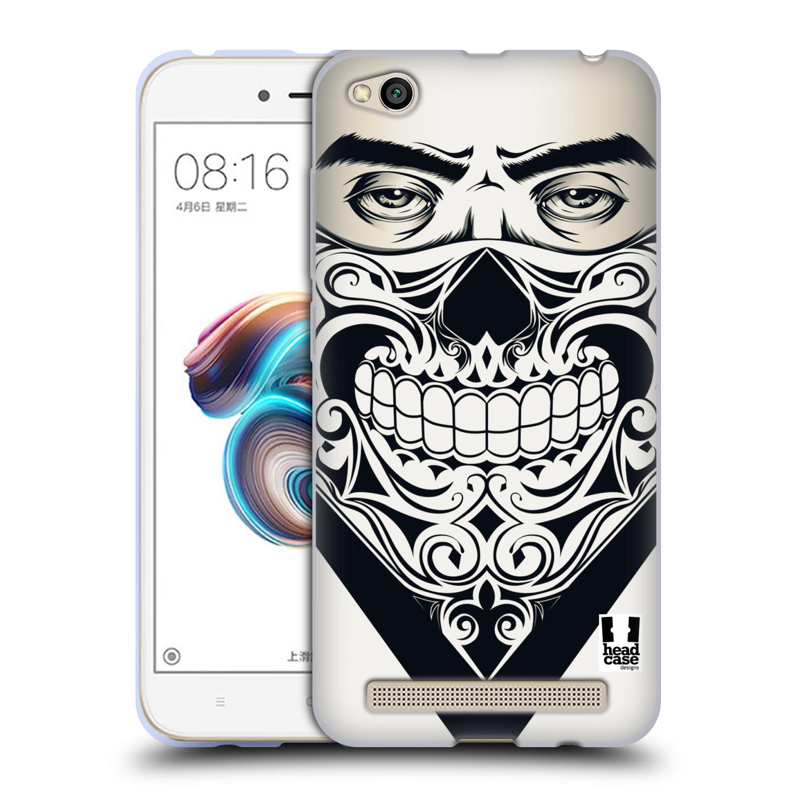 Silikonové pouzdro na mobil Xiaomi Redmi 5A - Head Case - LEBKA BANDANA
