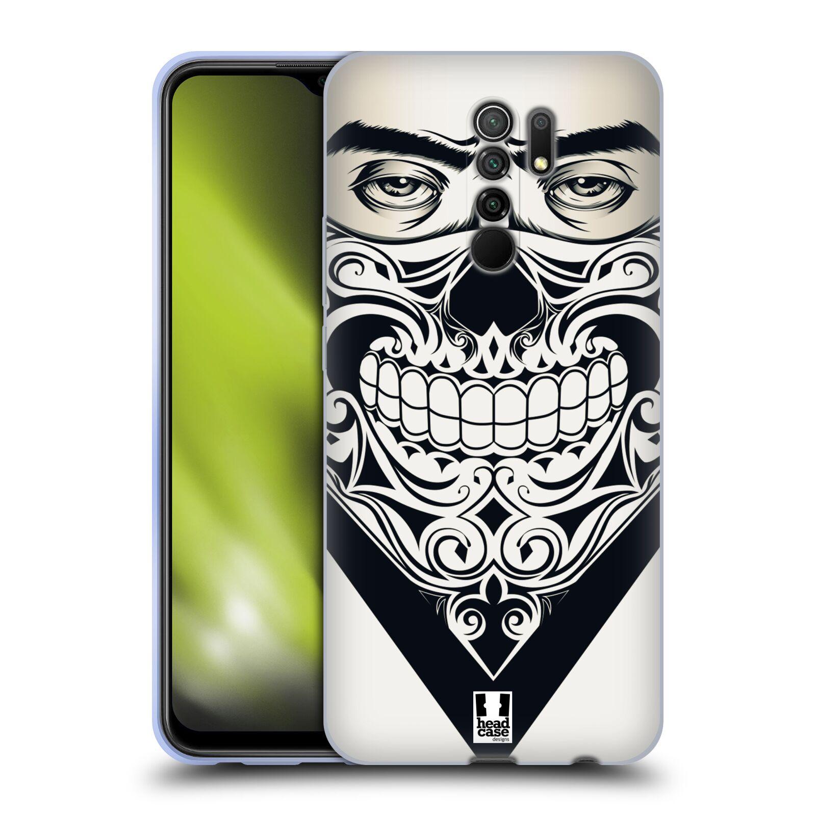Silikonové pouzdro na mobil Xiaomi Redmi 9 - Head Case - LEBKA BANDANA