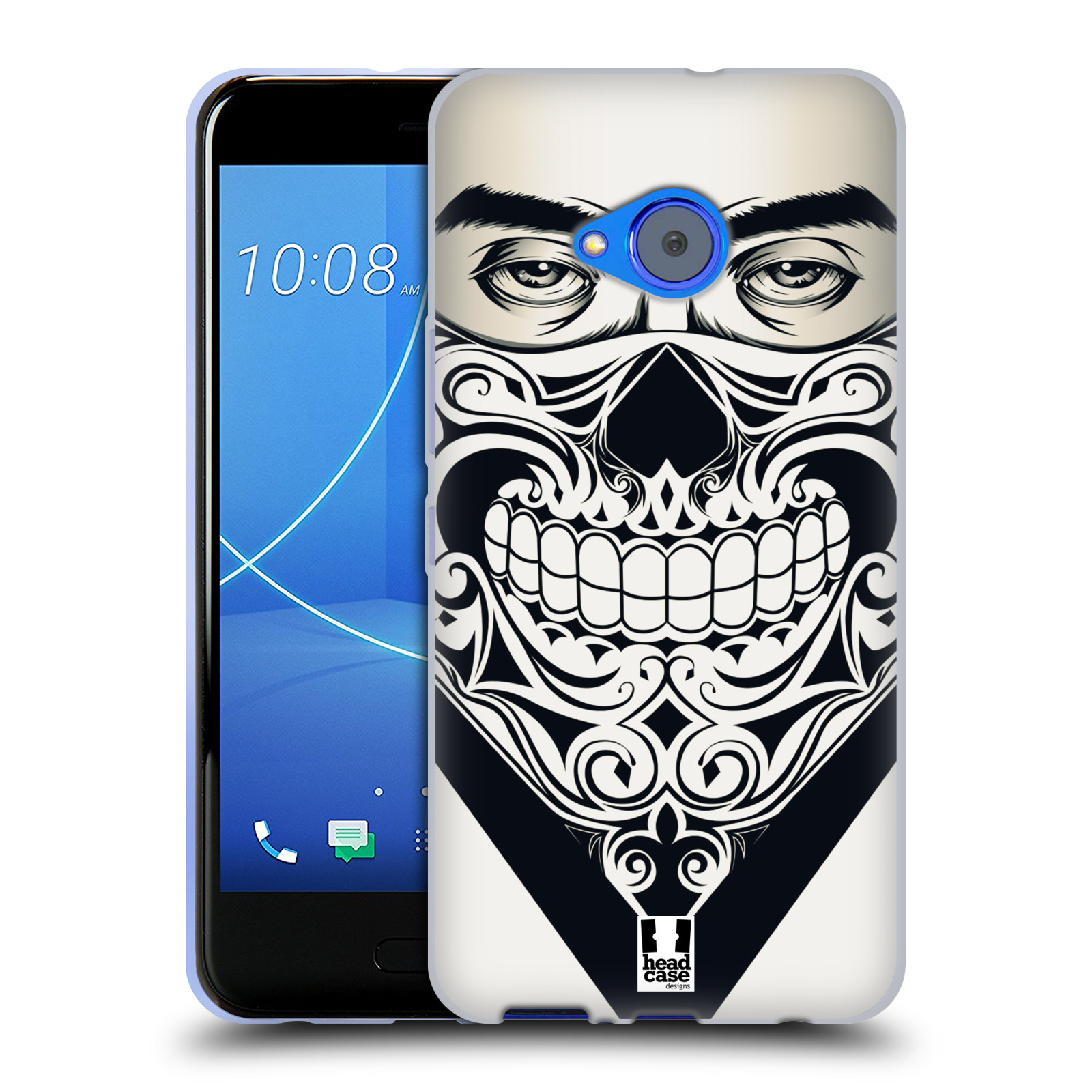 Silikonové pouzdro na mobil HTC U11 Life - Head Case - LEBKA BANDANA