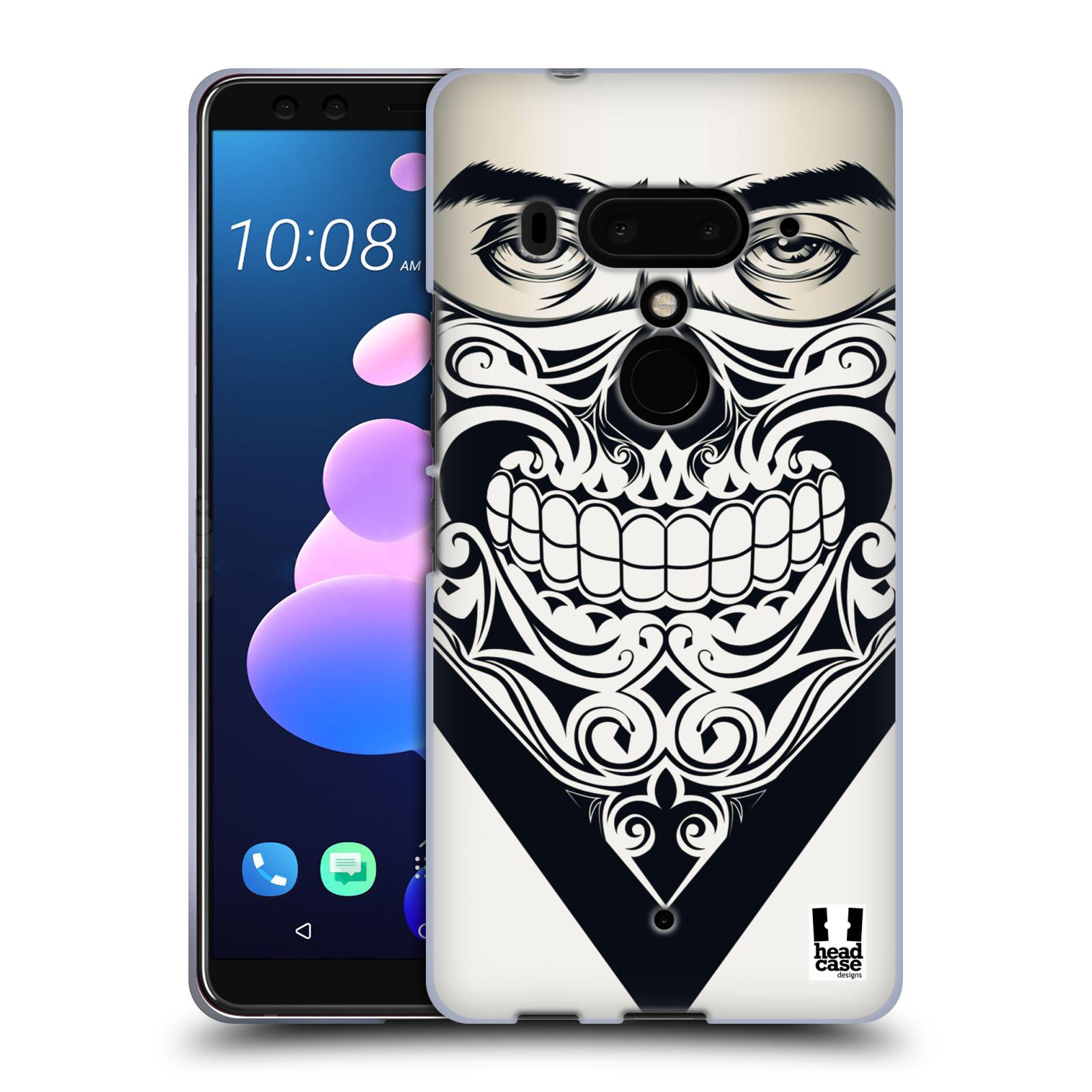 Silikonové pouzdro na mobil HTC U12 Plus - Head Case - LEBKA BANDANA