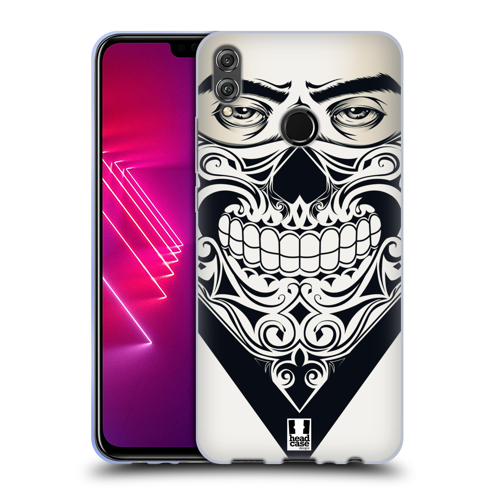 Silikonové pouzdro na mobil Honor View 10 Lite - Head Case - LEBKA BANDANA
