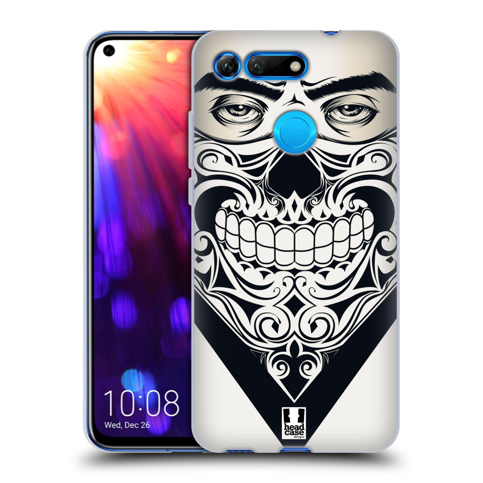 Silikonové pouzdro na mobil Honor View 20 - Head Case - LEBKA BANDANA