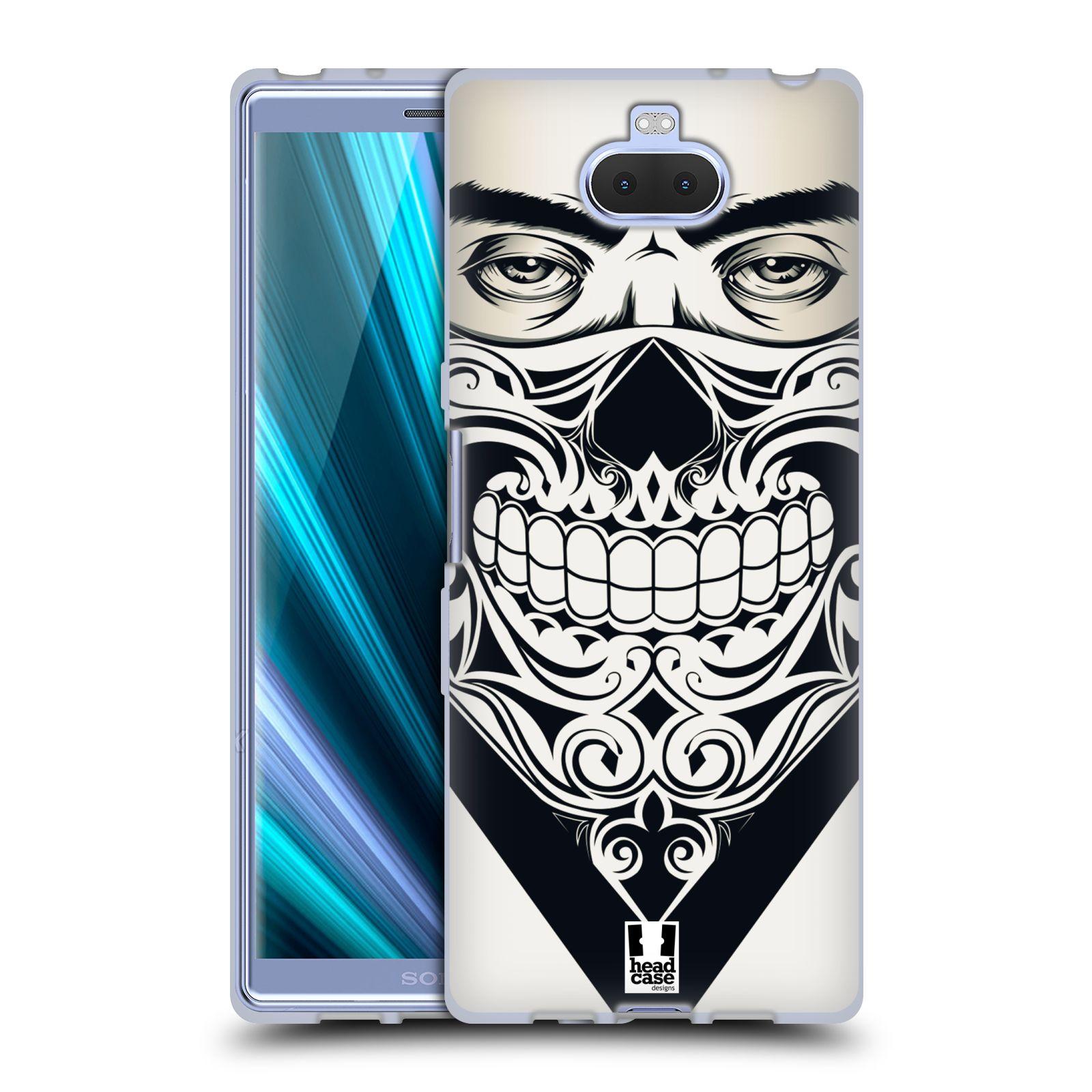 Silikonové pouzdro na mobil Sony Xperia 10 - Head Case - LEBKA BANDANA