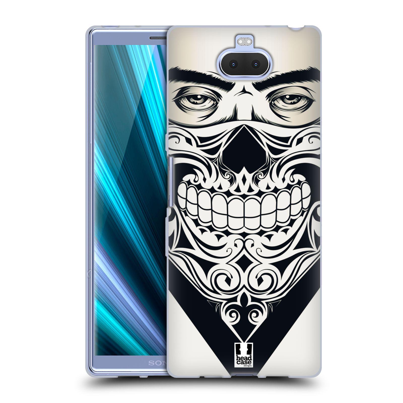 Silikonové pouzdro na mobil Sony Xperia 10 Plus - Head Case - LEBKA BANDANA