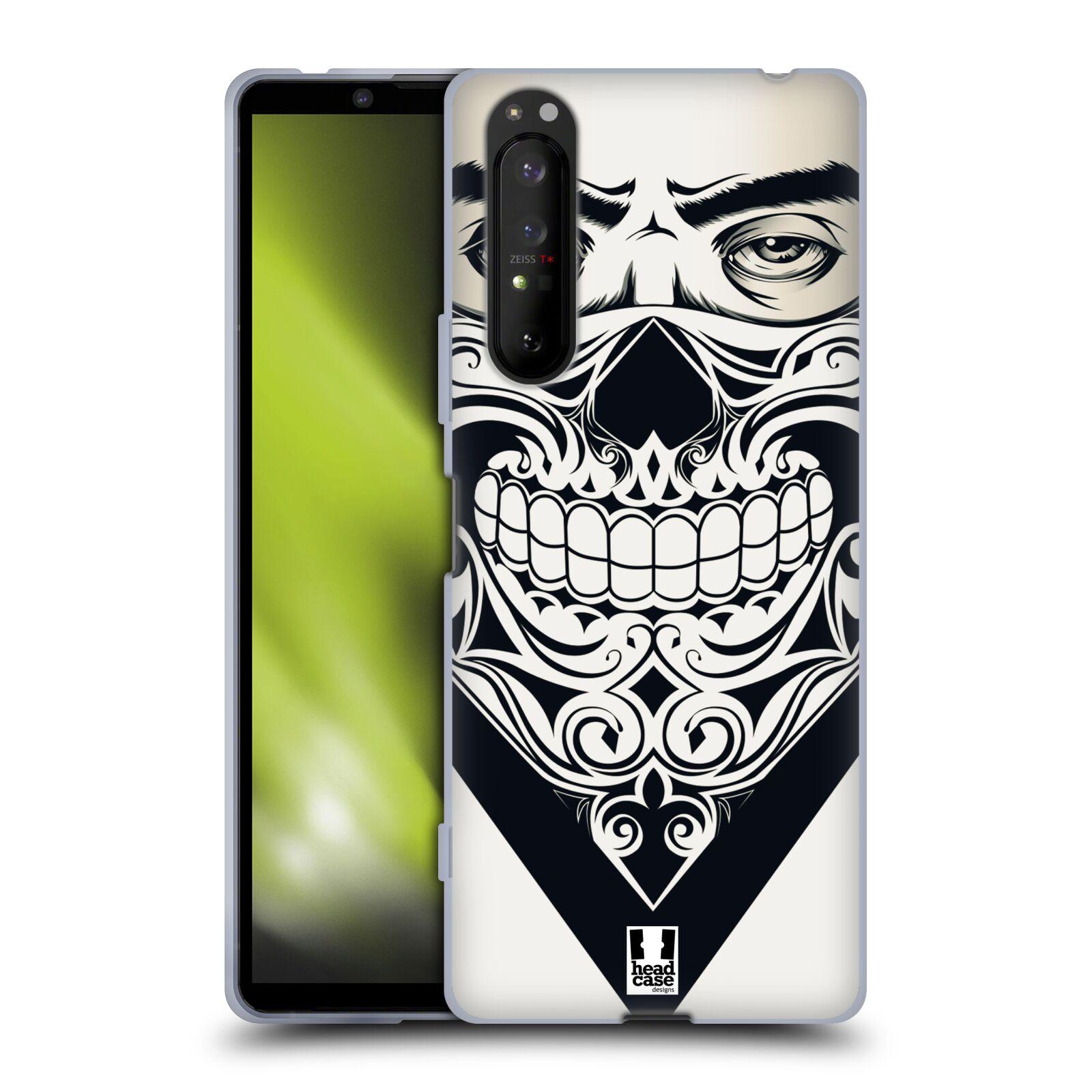 Silikonové pouzdro na mobil Sony Xperia 1 II - Head Case - LEBKA BANDANA