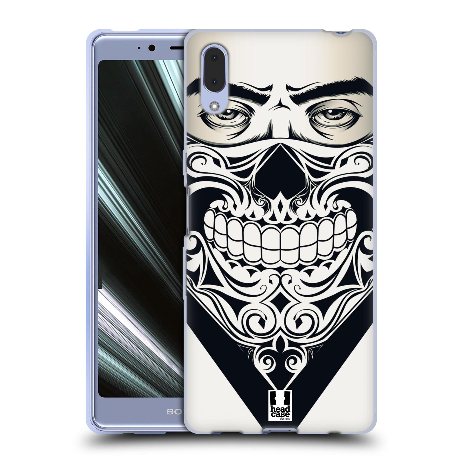 Silikonové pouzdro na mobil Sony Xperia L3 - Head Case - LEBKA BANDANA