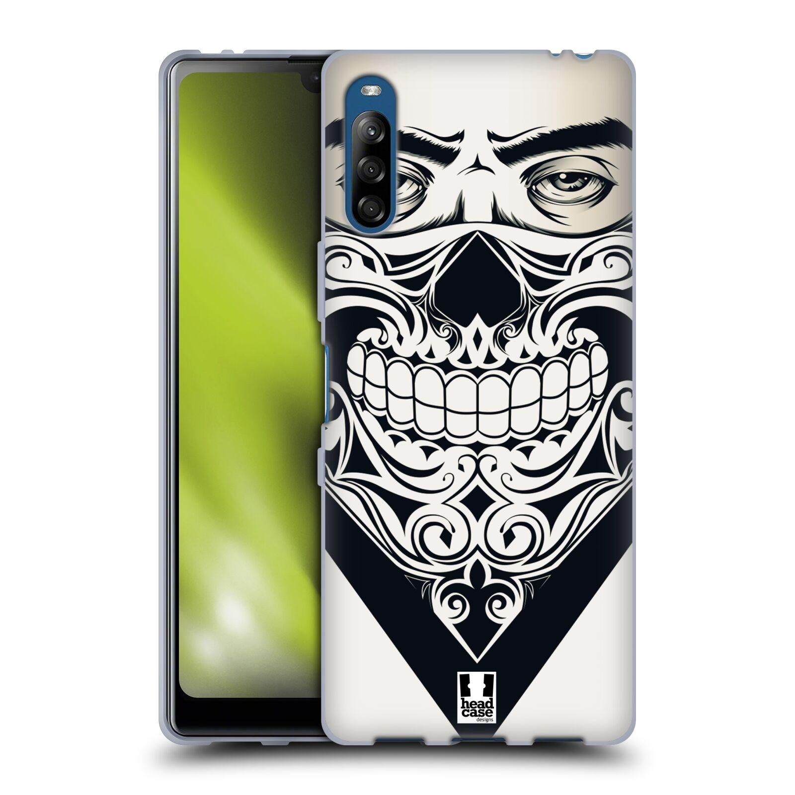 Silikonové pouzdro na mobil Sony Xperia L4 - Head Case - LEBKA BANDANA