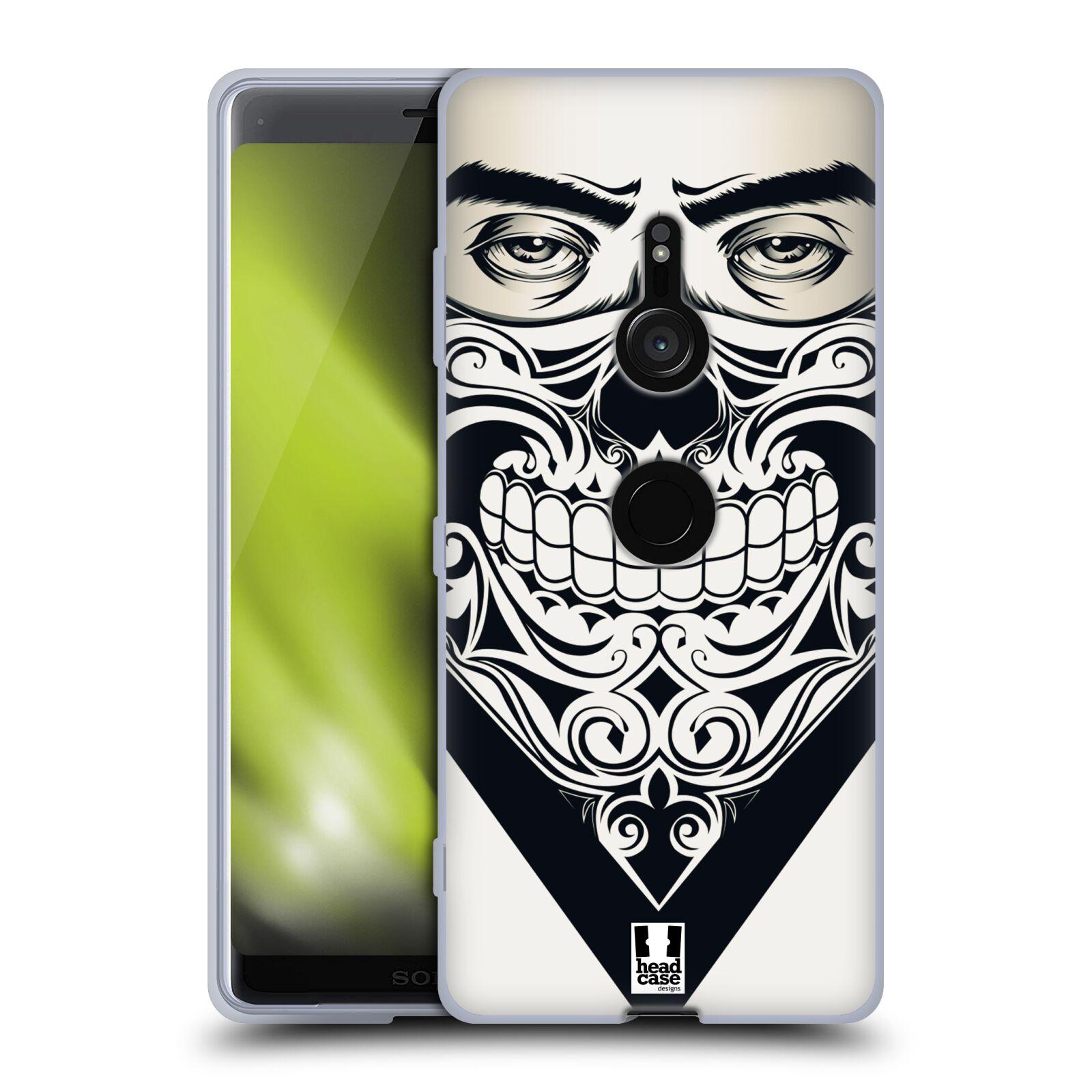 Silikonové pouzdro na mobil Sony Xperia XZ3 - Head Case - LEBKA BANDANA