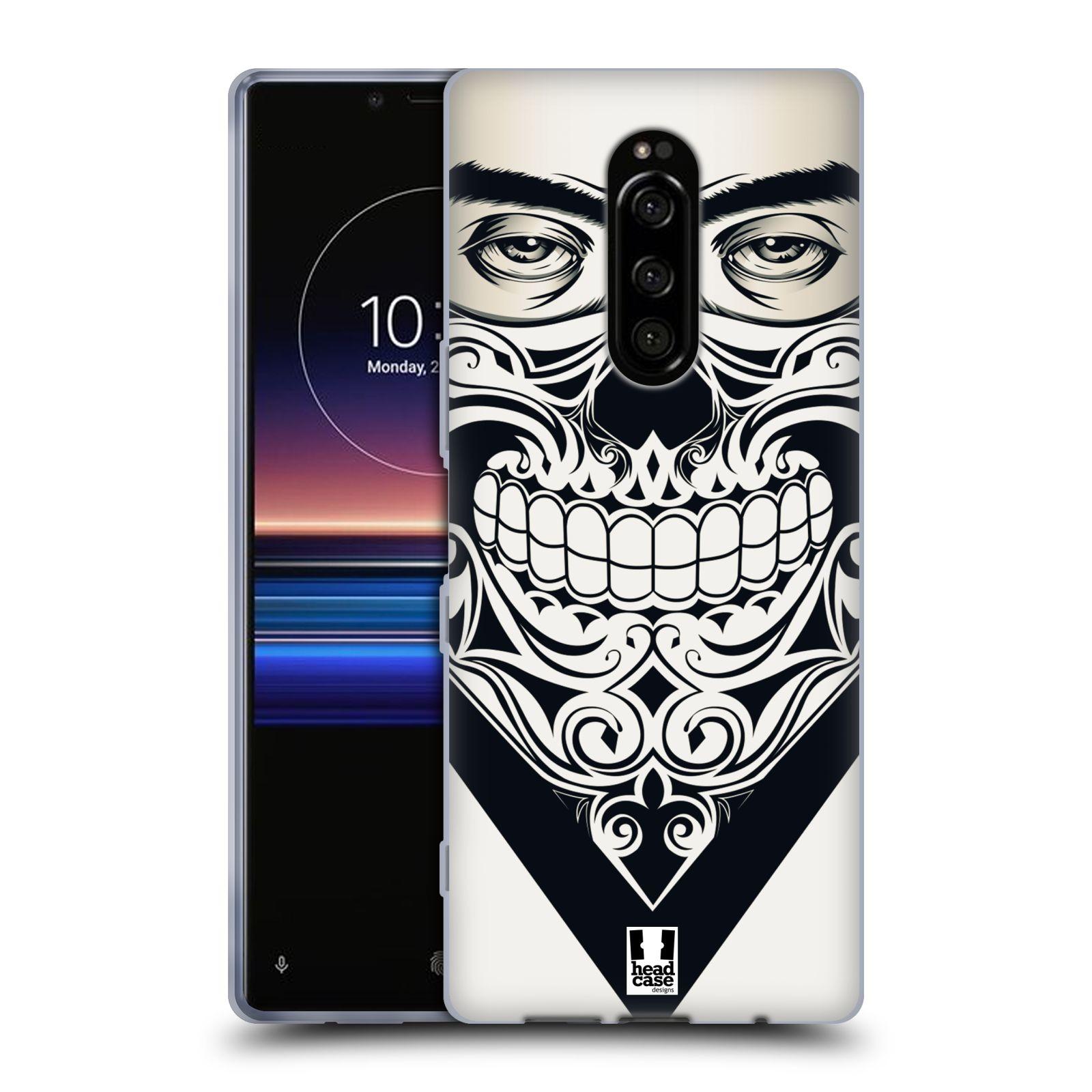 Silikonové pouzdro na mobil Sony Xperia 1 - Head Case - LEBKA BANDANA