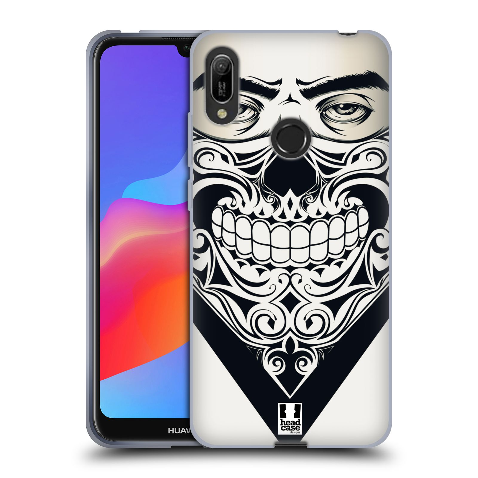 Silikonové pouzdro na mobil Huawei Y6 (2019) - Head Case - LEBKA BANDANA