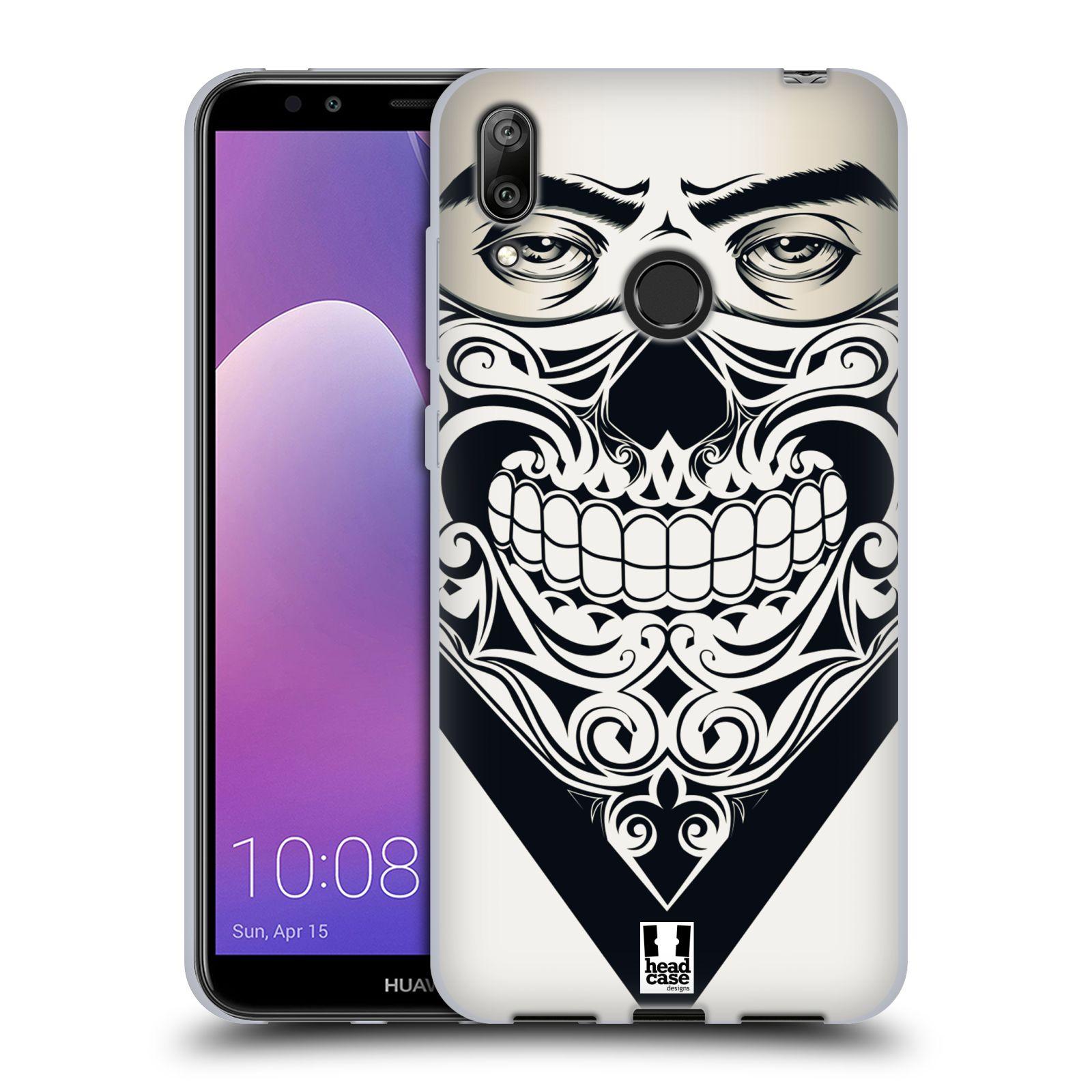 Silikonové pouzdro na mobil Huawei Y7 (2019) - Head Case - LEBKA BANDANA