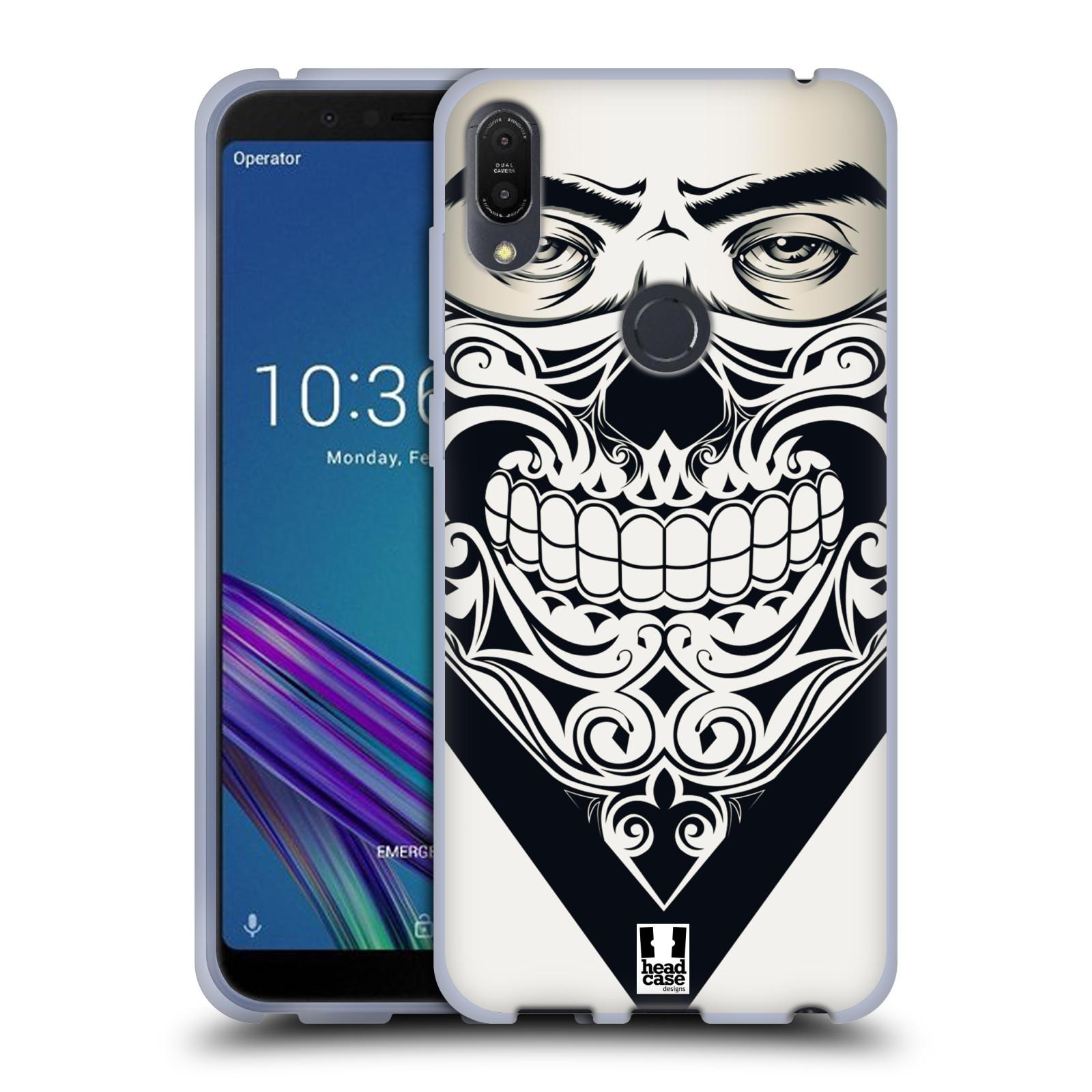 Silikonové pouzdro na mobil Asus ZenFone Max Pro (M1) - Head Case - LEBKA BANDANA
