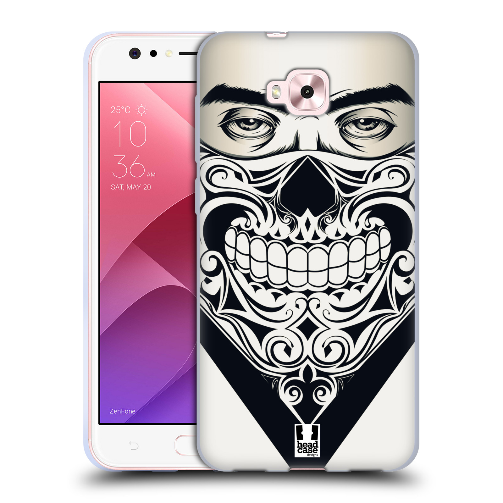 Silikonové pouzdro na mobil Asus Zenfone 4 Selfie ZD553KL - Head Case - LEBKA BANDANA
