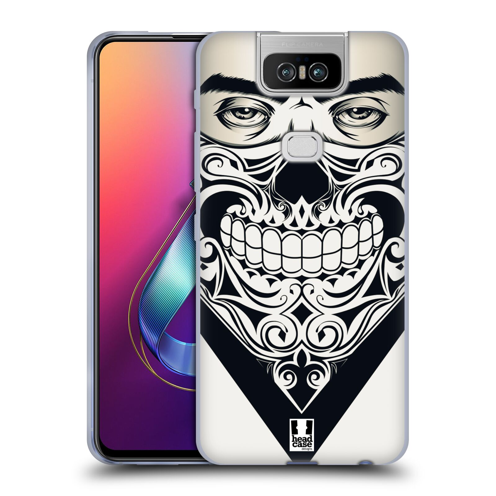 Silikonové pouzdro na mobil Asus Zenfone 6 ZS630KL - Head Case - LEBKA BANDANA