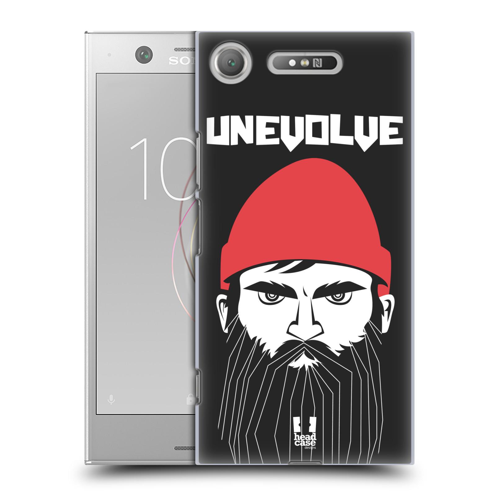 Plastové pouzdro na mobil Sony Xperia XZ1 - Head Case - KNÍRAČ UNEVOLVE
