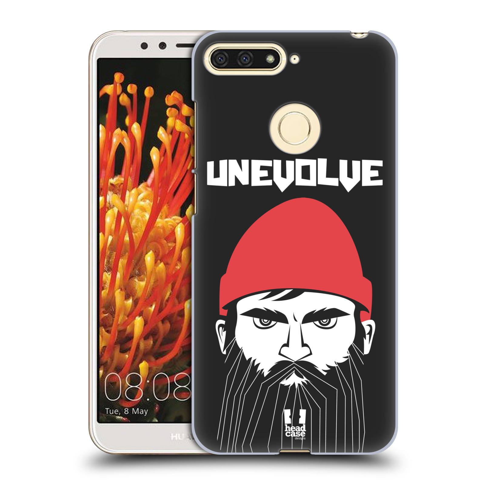 Plastové pouzdro na mobil Huawei Y6 Prime 2018 - Head Case - KNÍRAČ UNEVOLVE